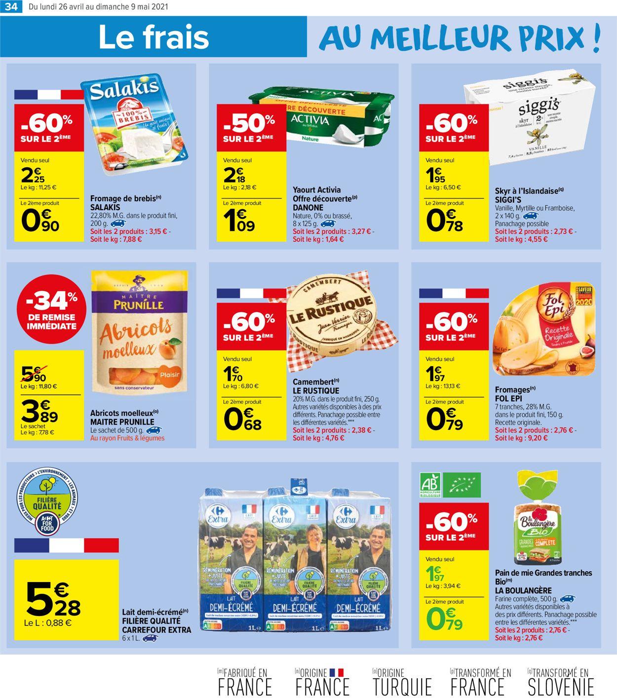 Carrefour Catalogue - 26.04-09.05.2021 (Page 34)