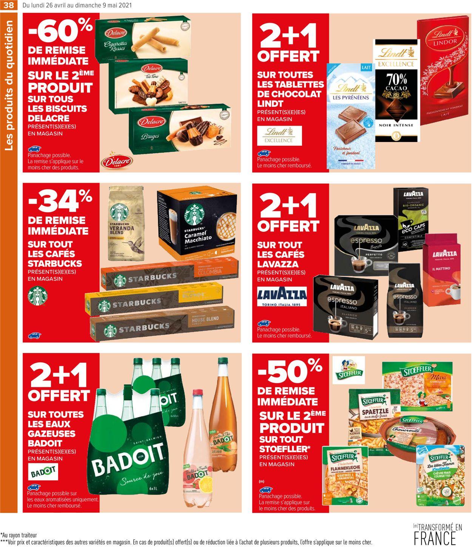Carrefour Catalogue - 26.04-09.05.2021 (Page 38)