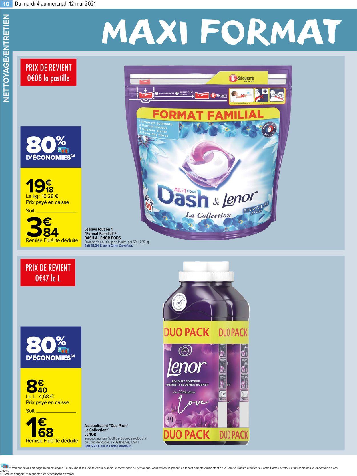 Carrefour Catalogue - 04.05-12.05.2021 (Page 10)
