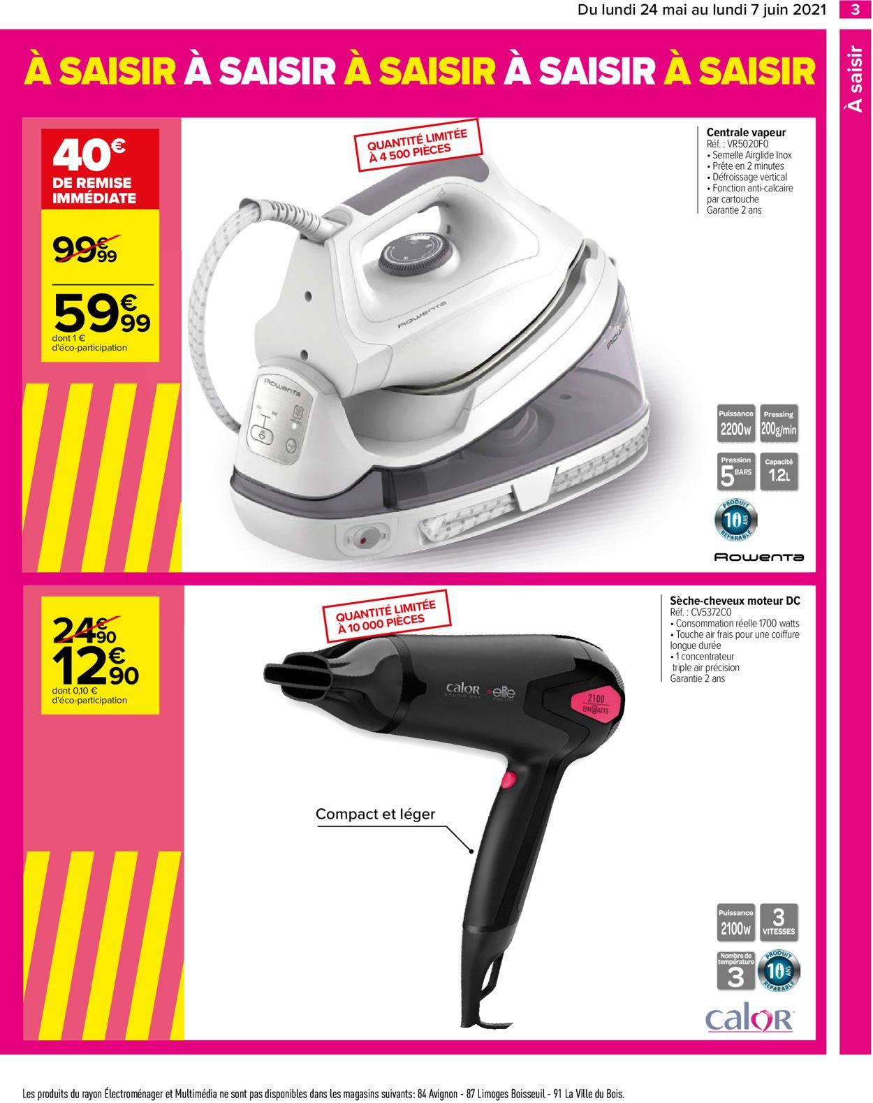 Carrefour Catalogue - 24.05-07.06.2021 (Page 3)