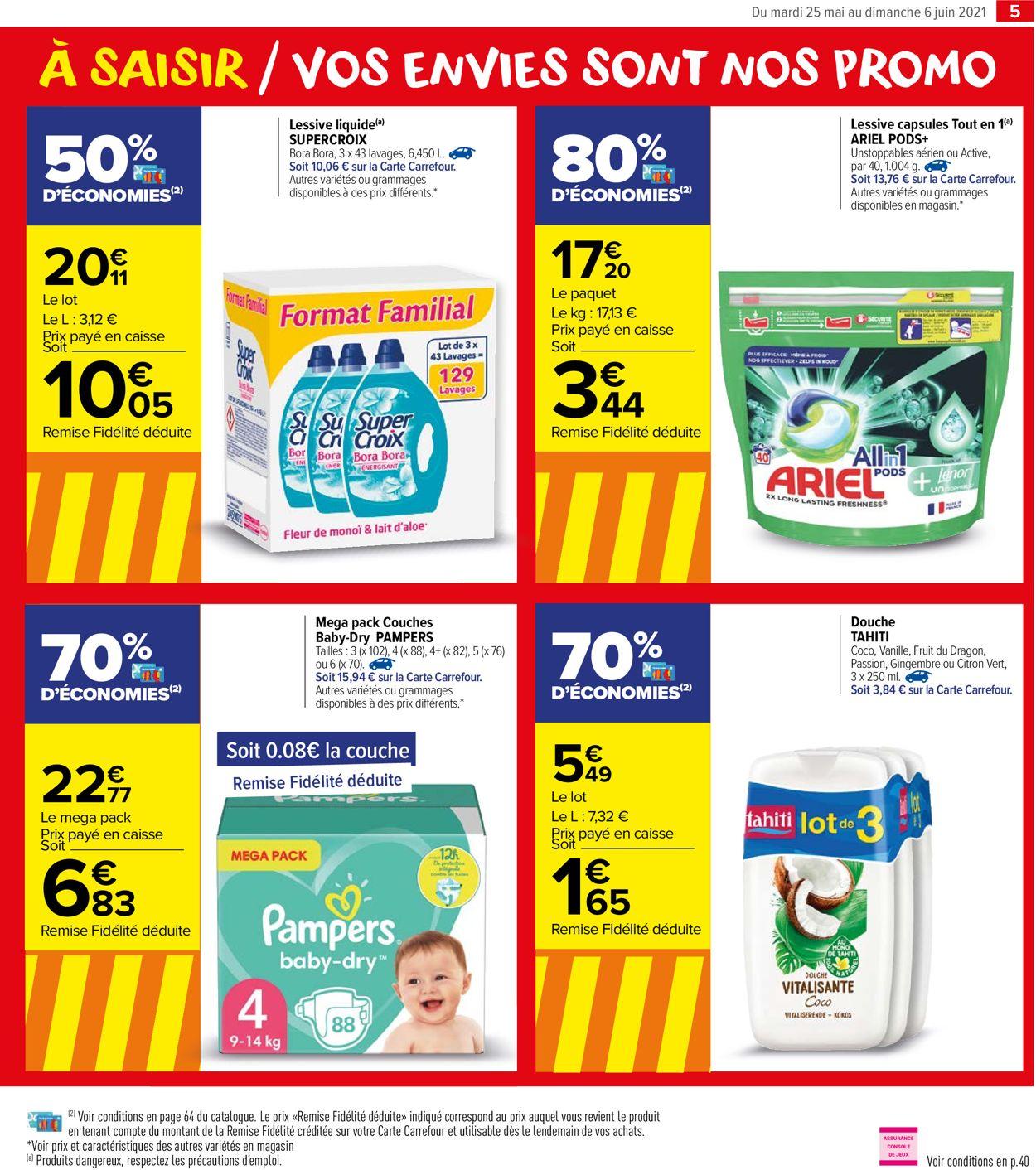 Carrefour Catalogue - 26.05-06.06.2021 (Page 5)