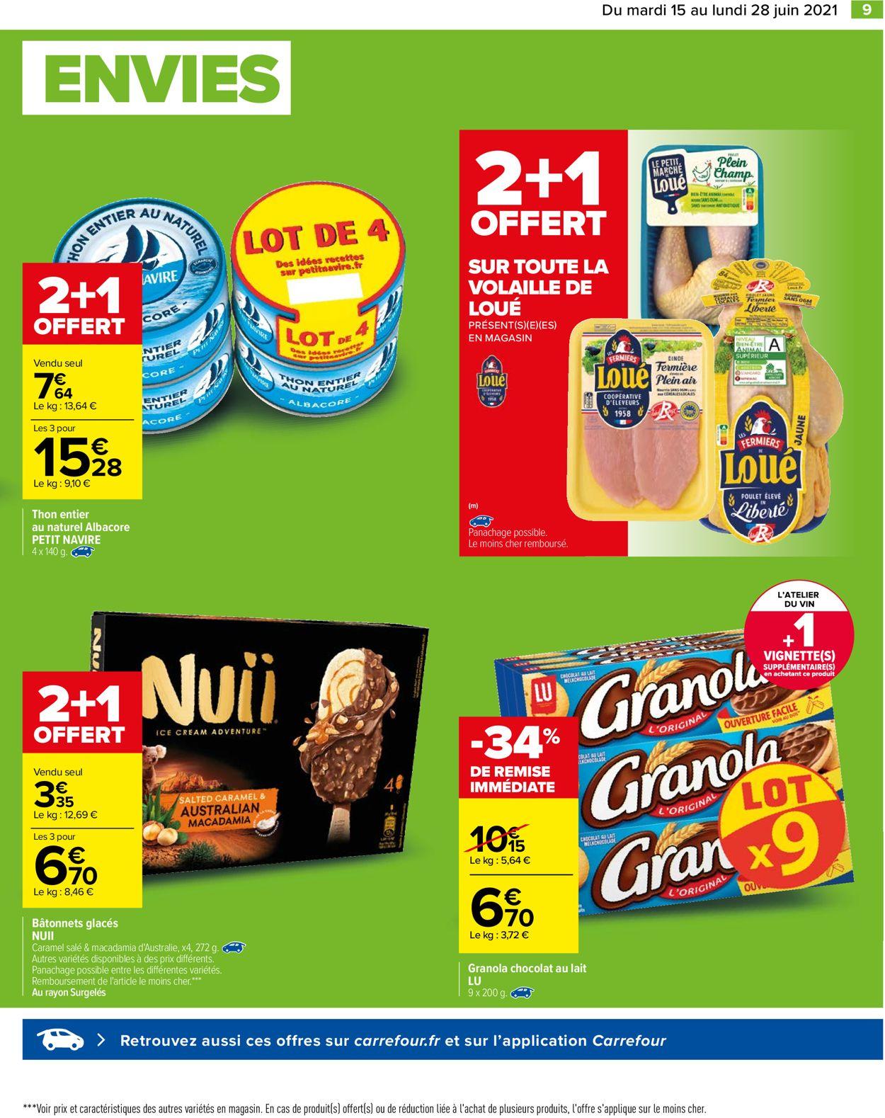 Carrefour Catalogue - 15.06-28.06.2021 (Page 9)