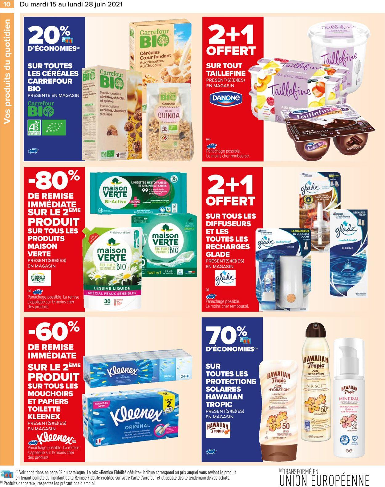 Carrefour Catalogue - 15.06-28.06.2021 (Page 10)