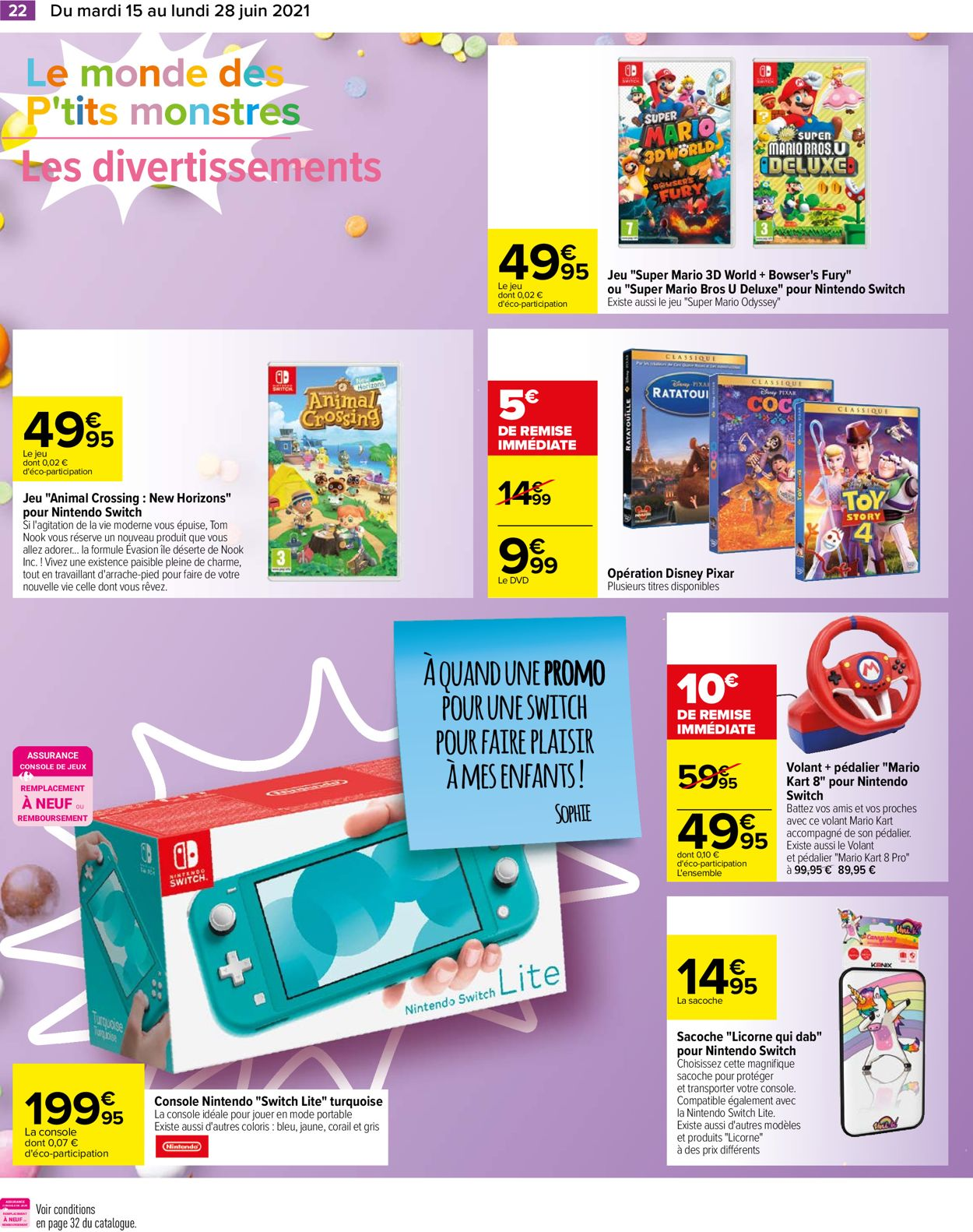 Carrefour Catalogue - 15.06-28.06.2021 (Page 22)