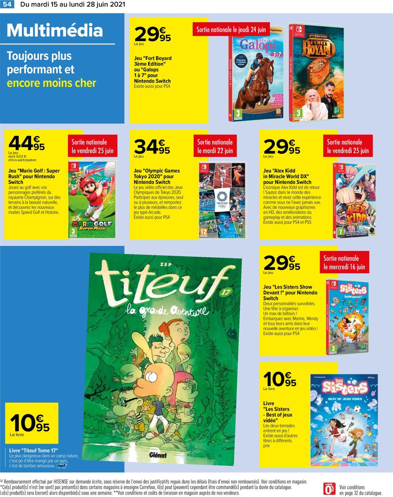 Carrefour Catalogue - 15.06-28.06.2021 (Page 58)