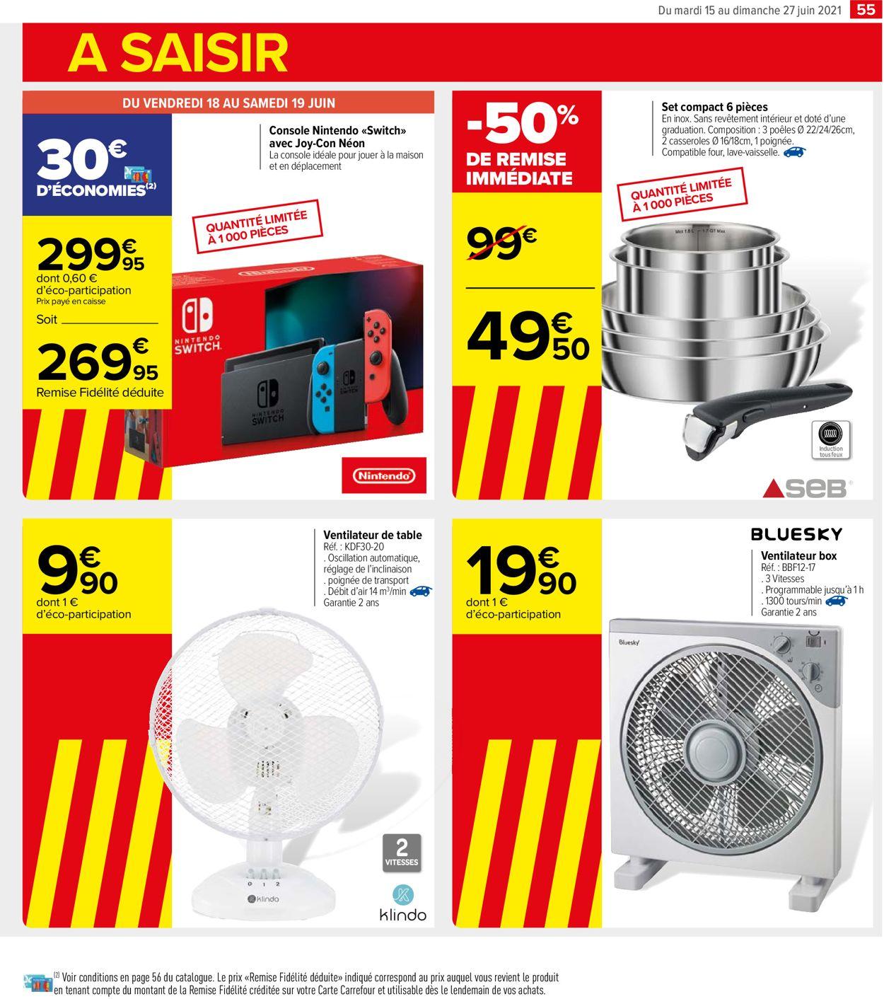 Carrefour Catalogue - 15.06-27.06.2021 (Page 55)