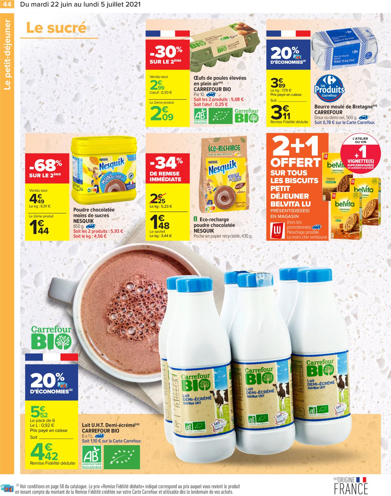 Carrefour Catalogue - 22.06-05.07.2021 (Page 44)