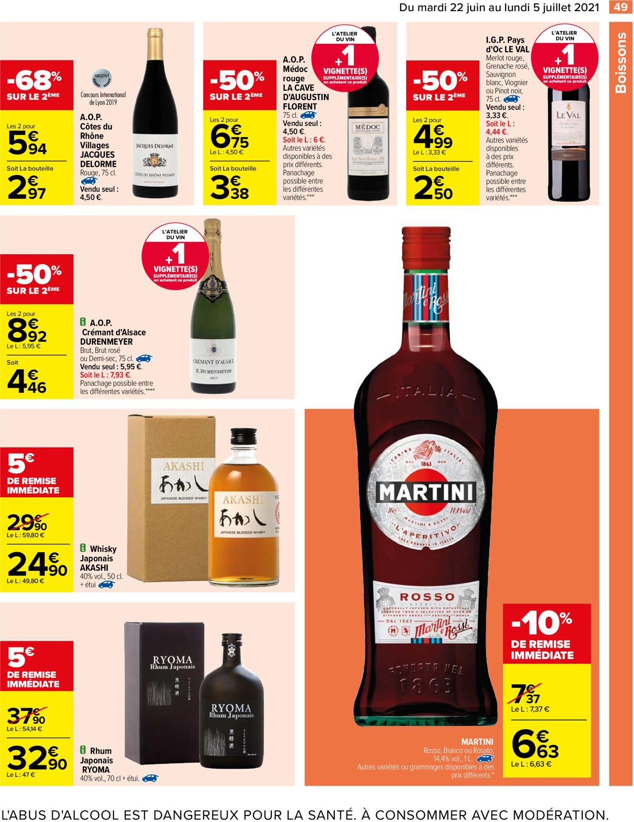Carrefour Catalogue - 22.06-05.07.2021 (Page 49)