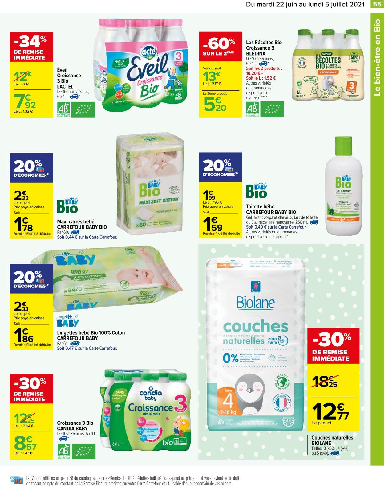 Carrefour Catalogue - 22.06-05.07.2021 (Page 55)