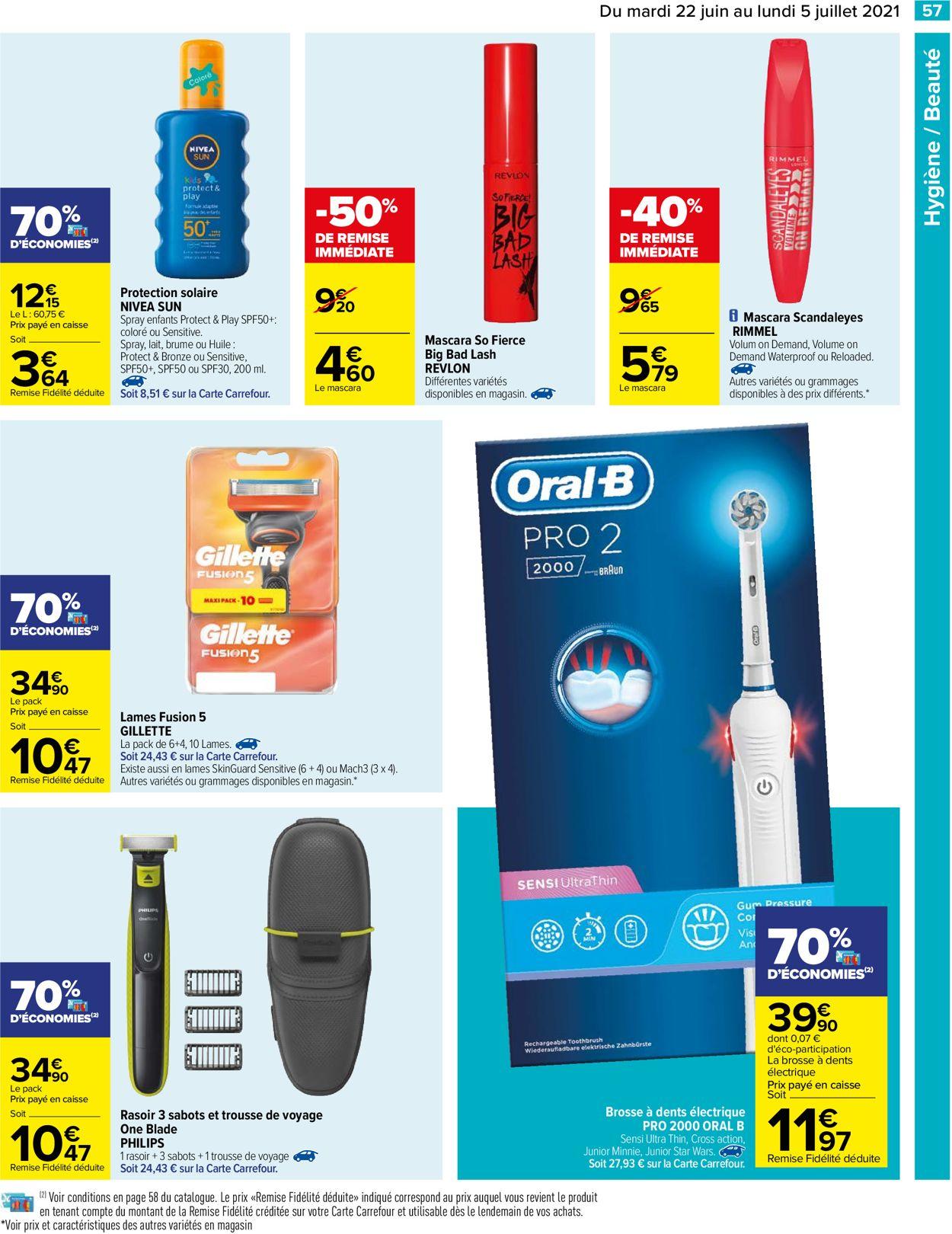 Carrefour Catalogue - 22.06-05.07.2021 (Page 57)