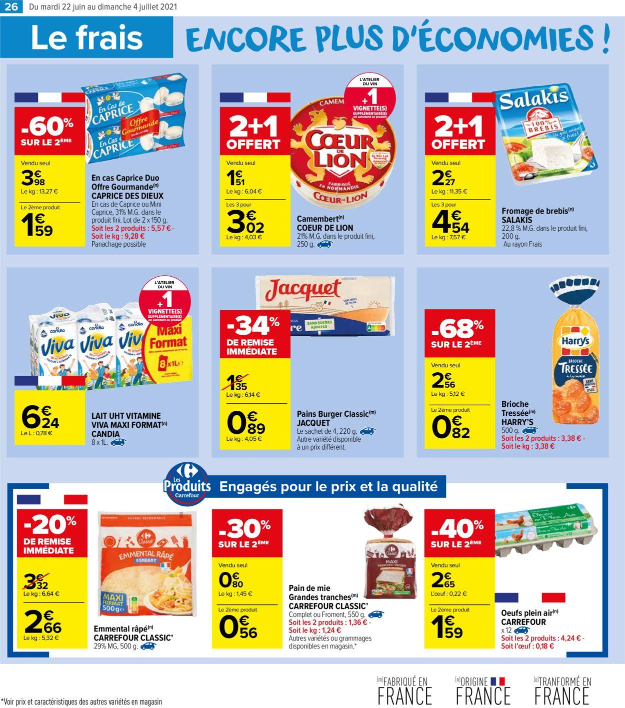 Carrefour Catalogue - 22.06-04.07.2021 (Page 26)