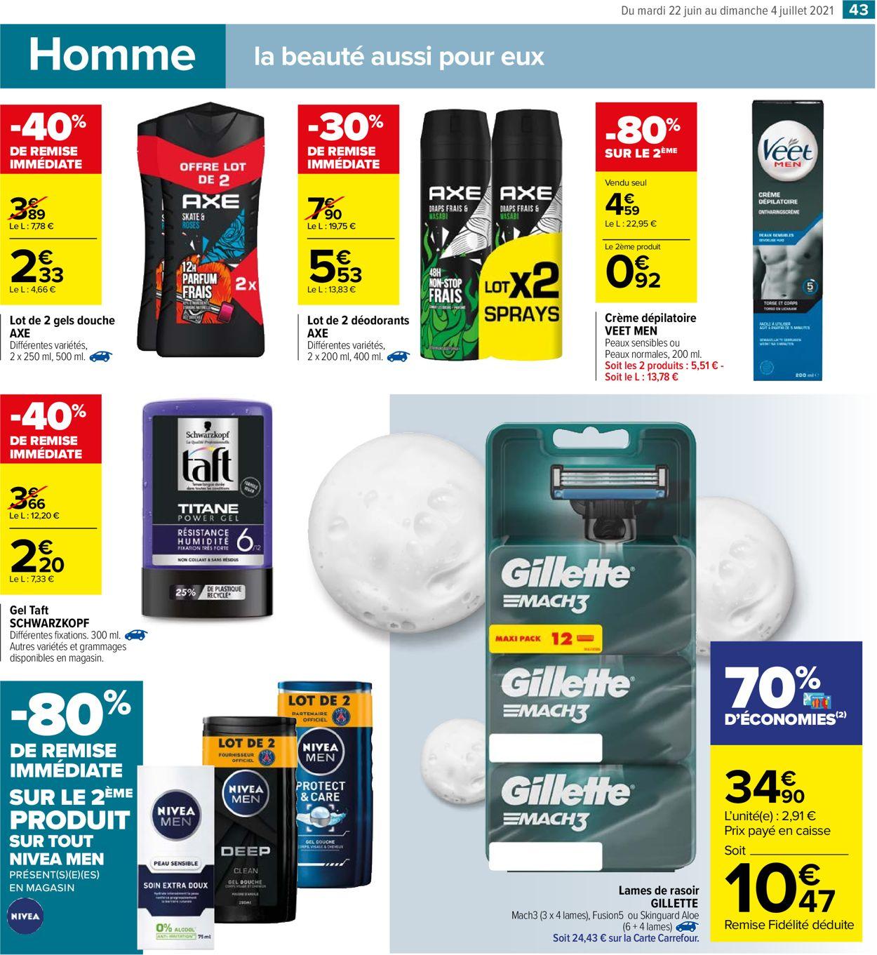 Carrefour Catalogue - 22.06-04.07.2021 (Page 43)