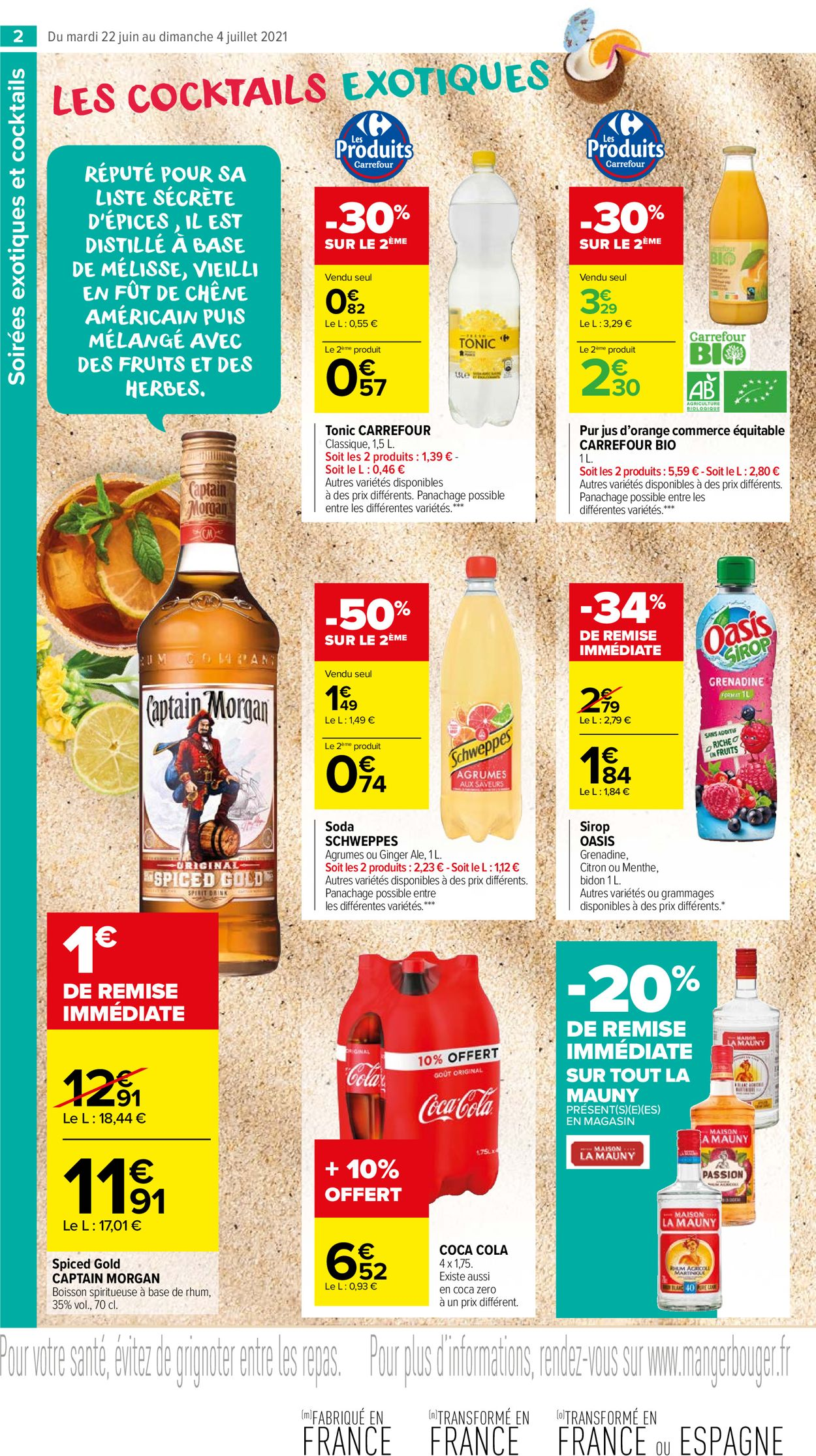 Carrefour Catalogue - 22.06-04.07.2021 (Page 2)