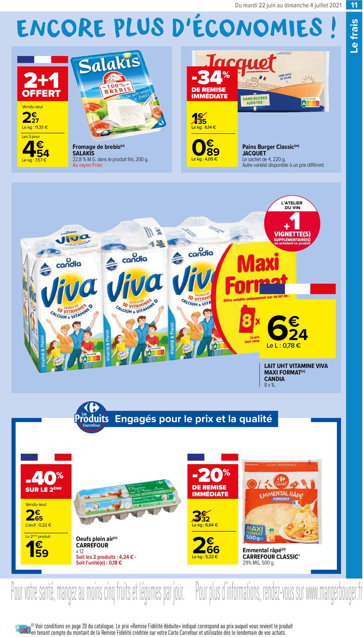 Carrefour Catalogue - 22.06-04.07.2021 (Page 11)