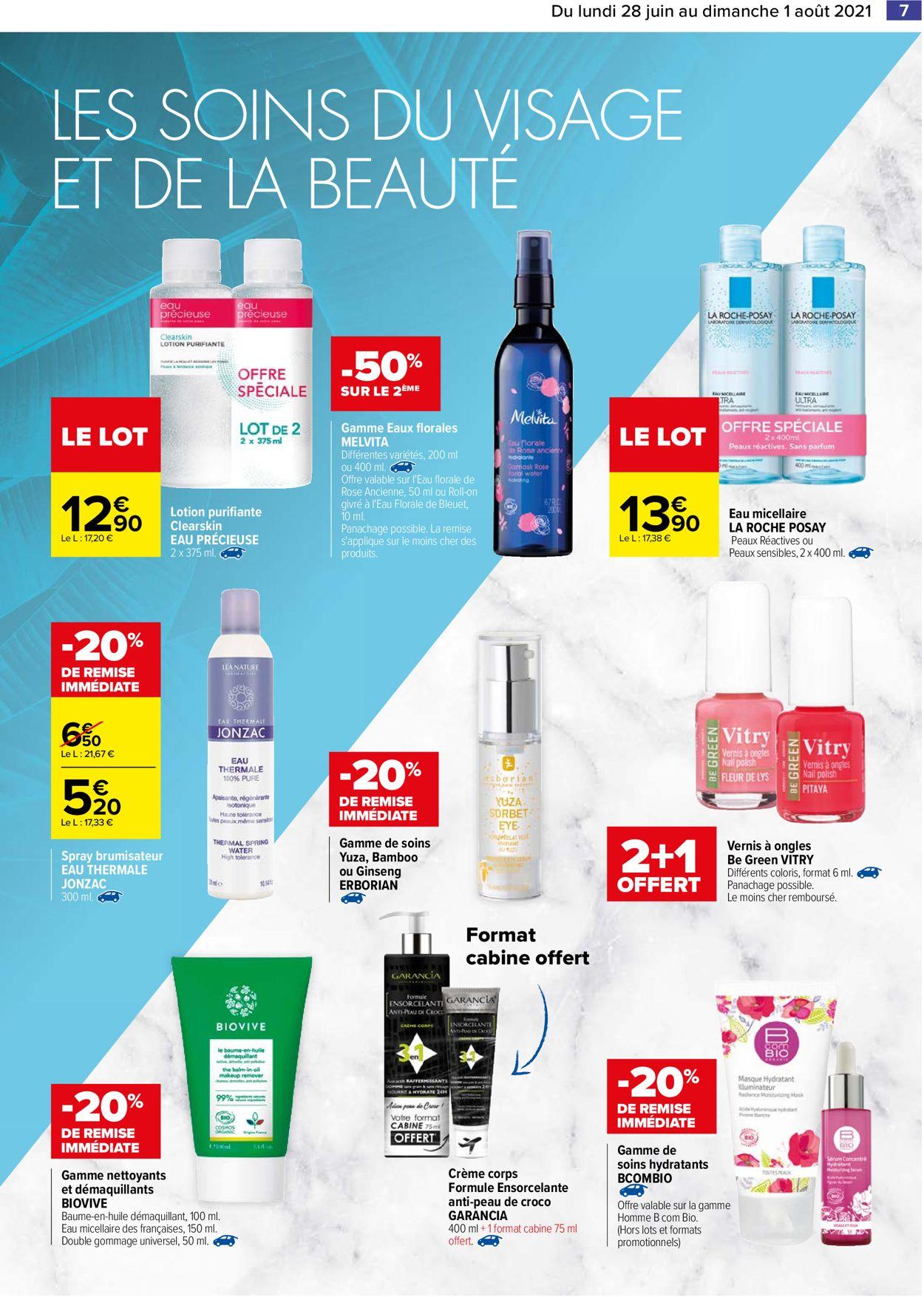 Carrefour Catalogue - 28.06-01.08.2021 (Page 7)