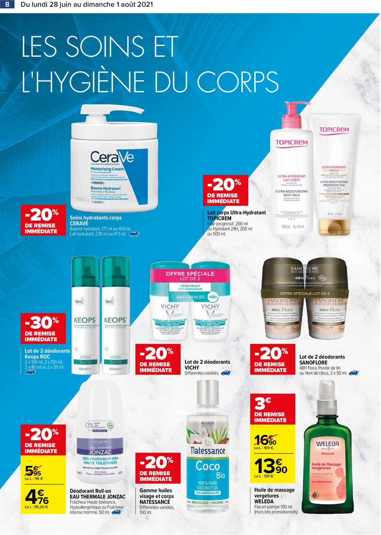 Carrefour Catalogue - 28.06-01.08.2021 (Page 8)