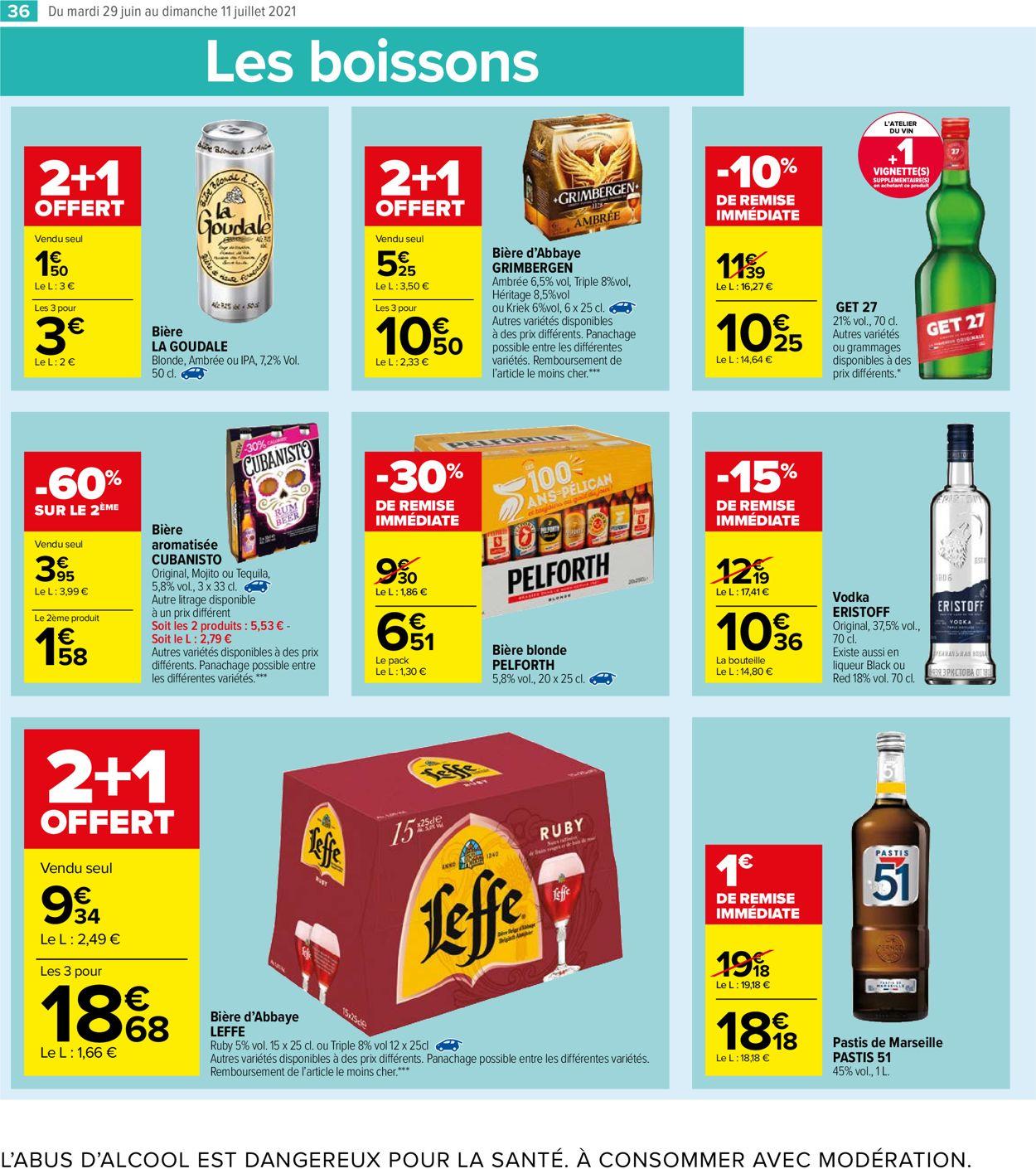 Carrefour Catalogue - 29.06-11.07.2021 (Page 36)