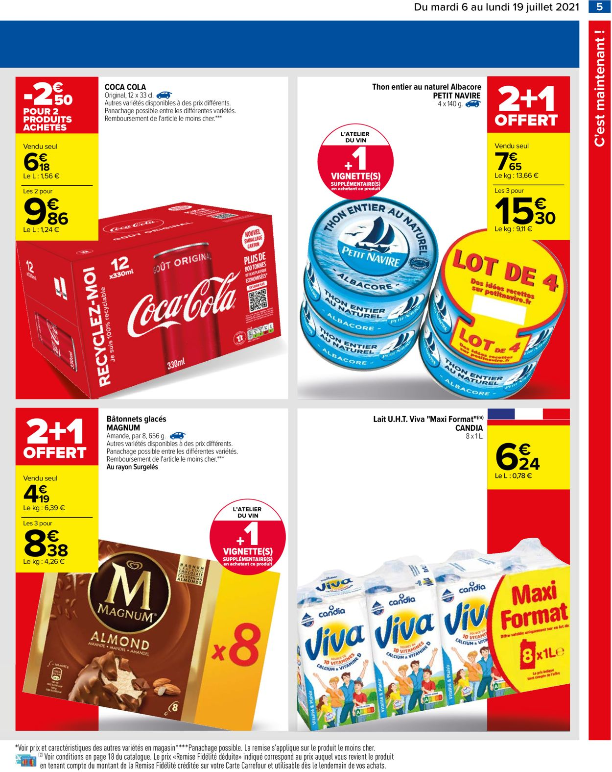 Carrefour Catalogue - 06.07-19.07.2021 (Page 5)