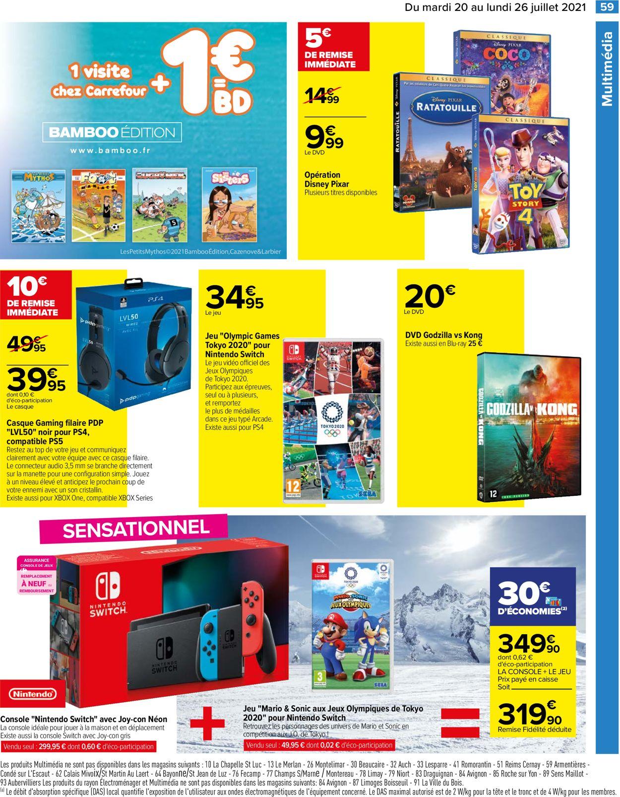 Carrefour Catalogue - 20.07-26.07.2021 (Page 63)