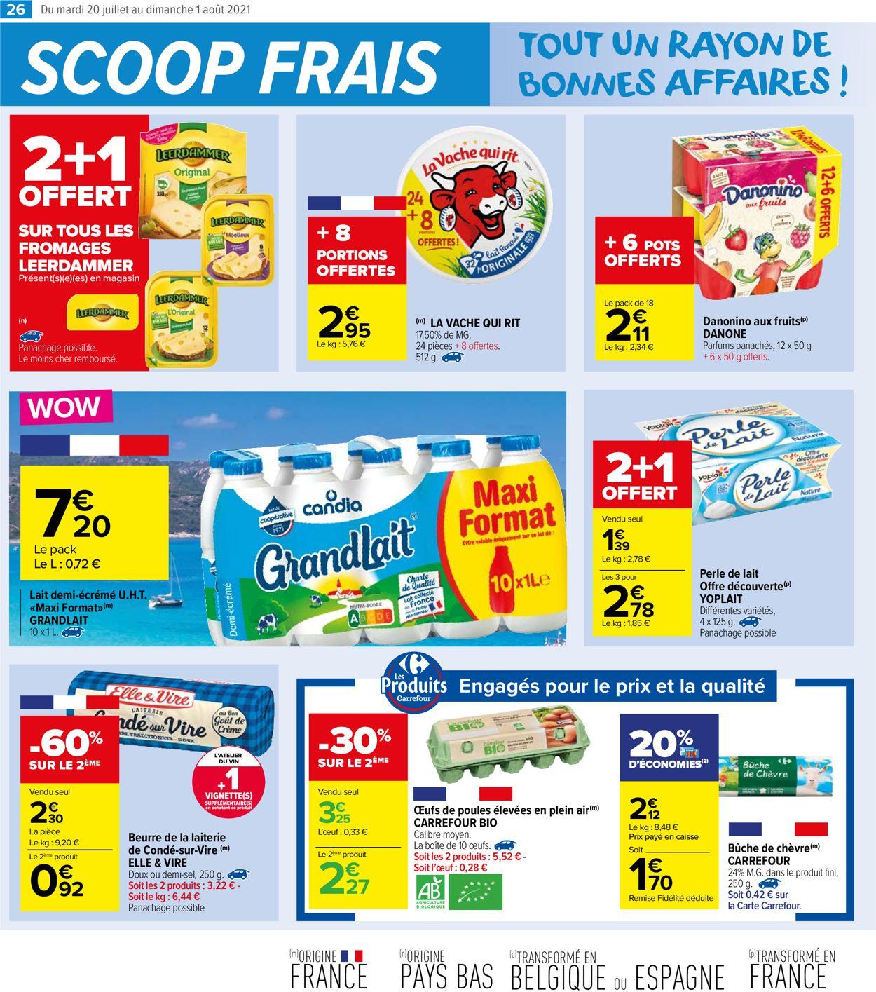 Carrefour Catalogue - 20.07-01.08.2021 (Page 26)