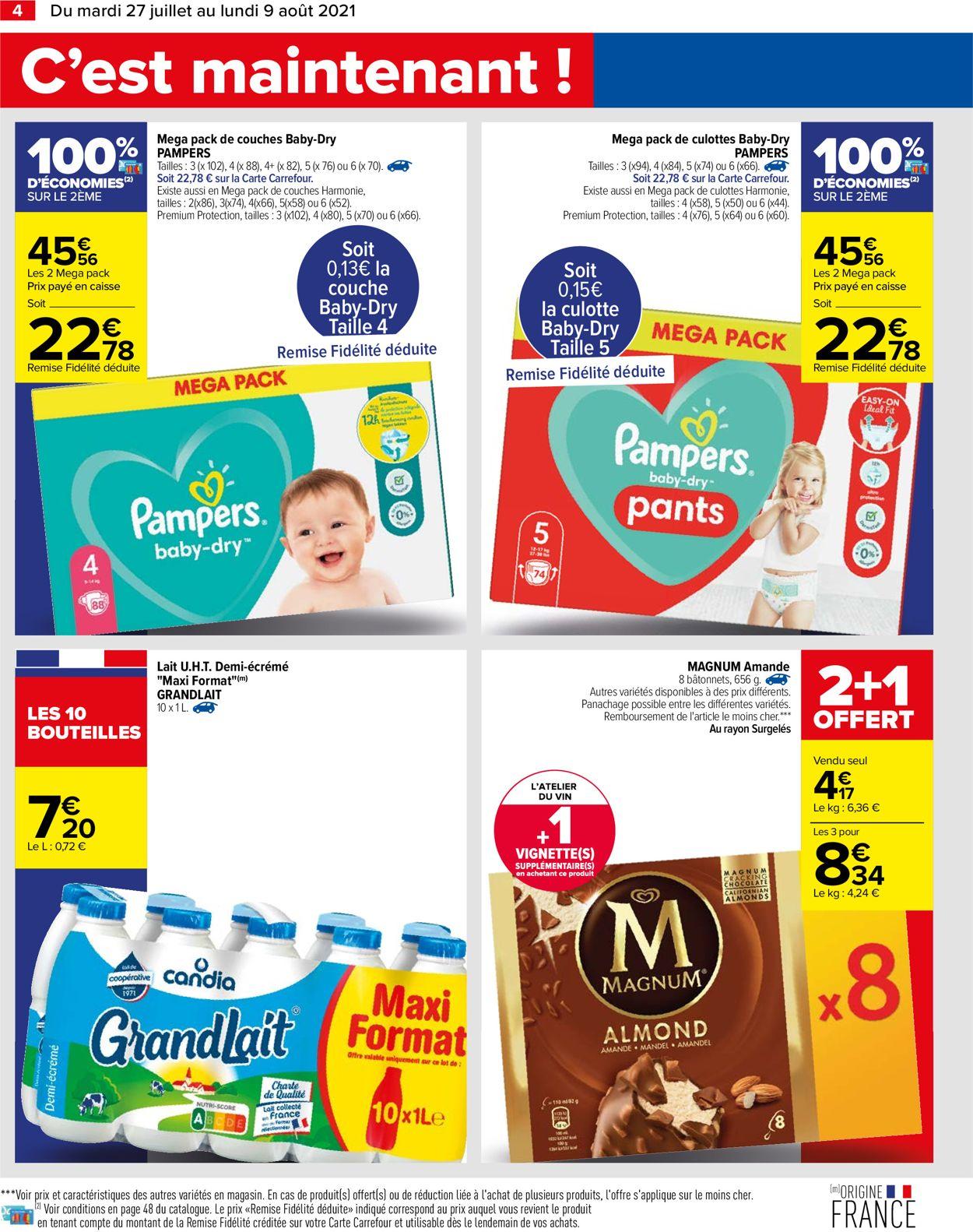 Carrefour Catalogue - 27.07-09.08.2021 (Page 4)