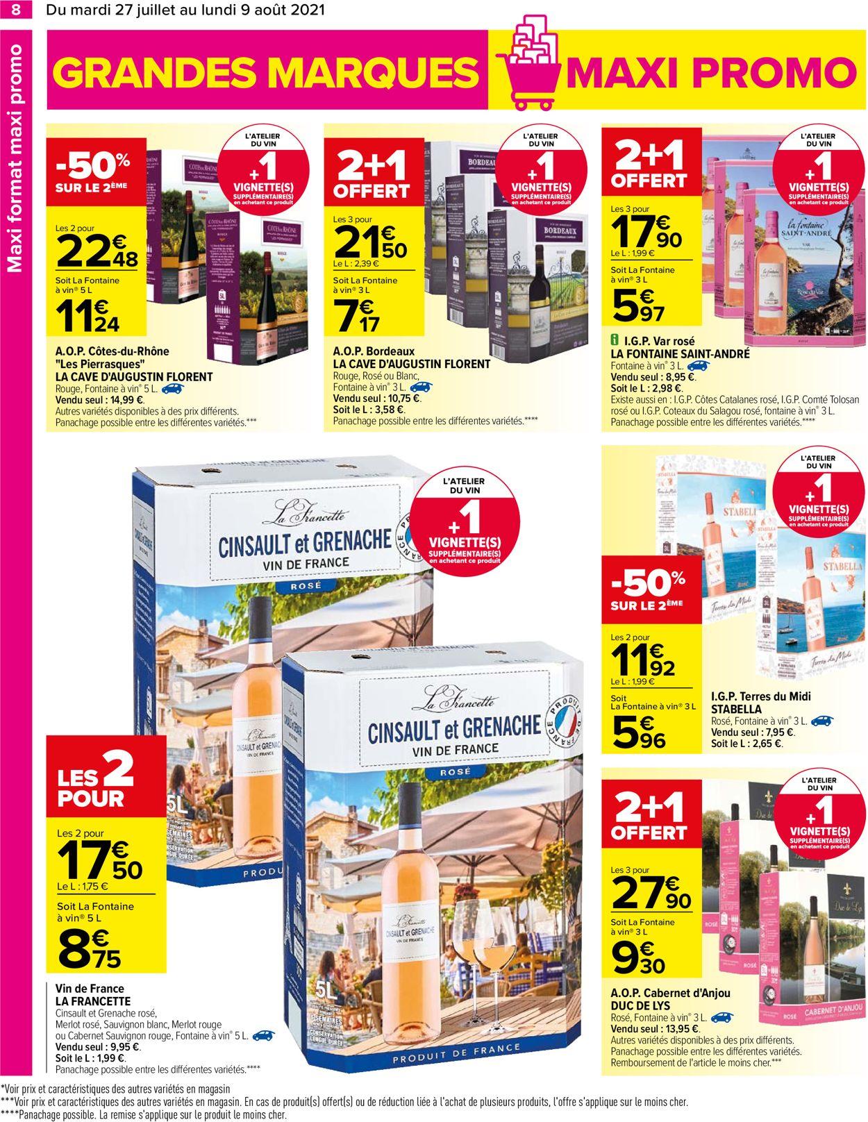 Carrefour Catalogue - 27.07-09.08.2021 (Page 8)