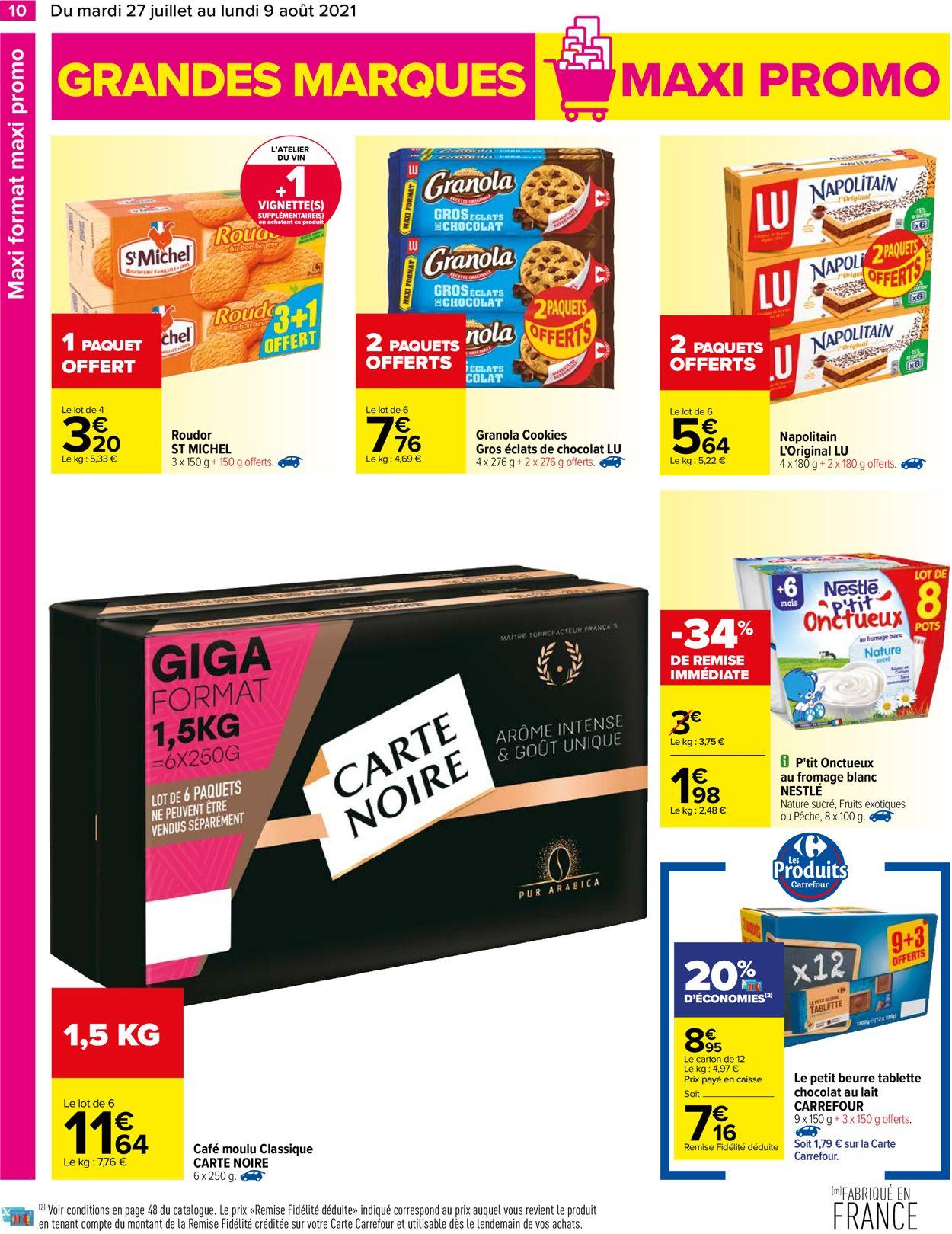 Carrefour Catalogue - 27.07-09.08.2021 (Page 10)