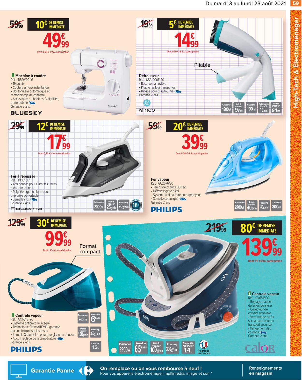 Carrefour Catalogue - 03.08-23.08.2021 (Page 59)