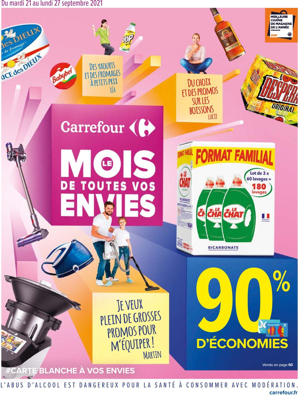 Carrefour Catalogue - 21.09-27.09.2021
