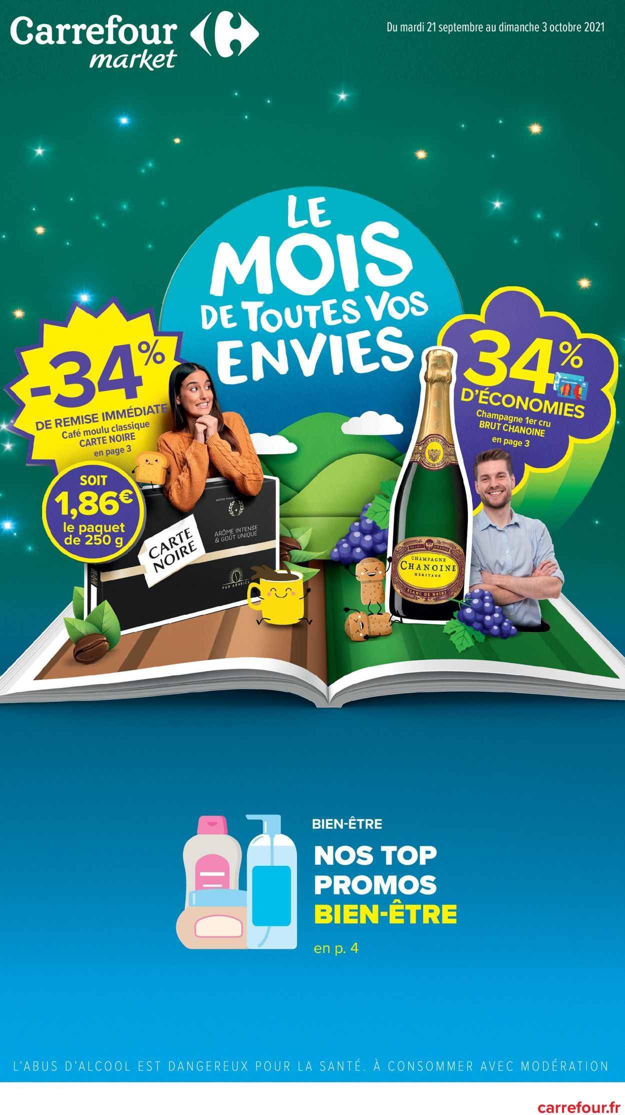 Carrefour Catalogue - 21.09-03.10.2021