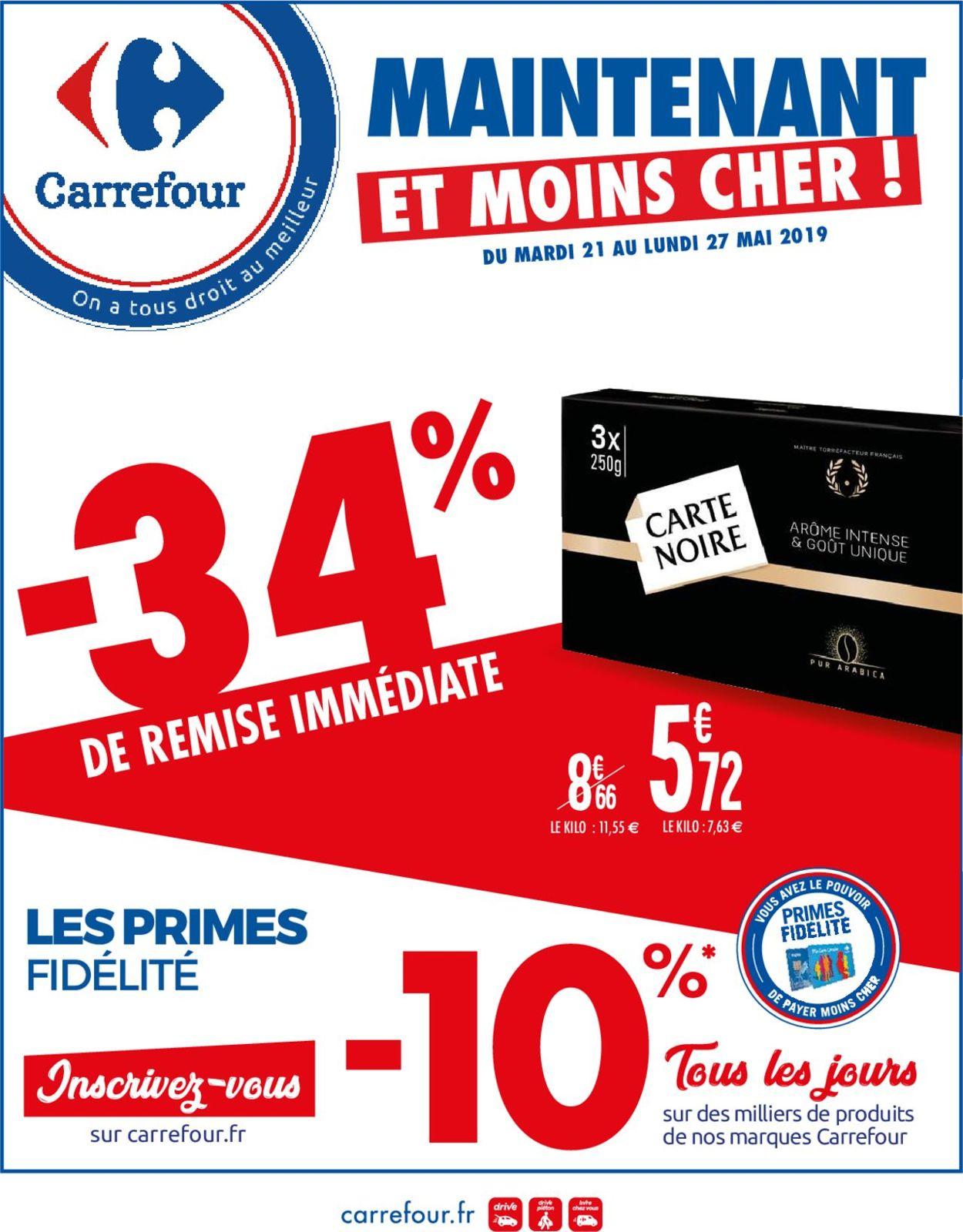 Carrefour Catalogue - 21.05-27.05.2019