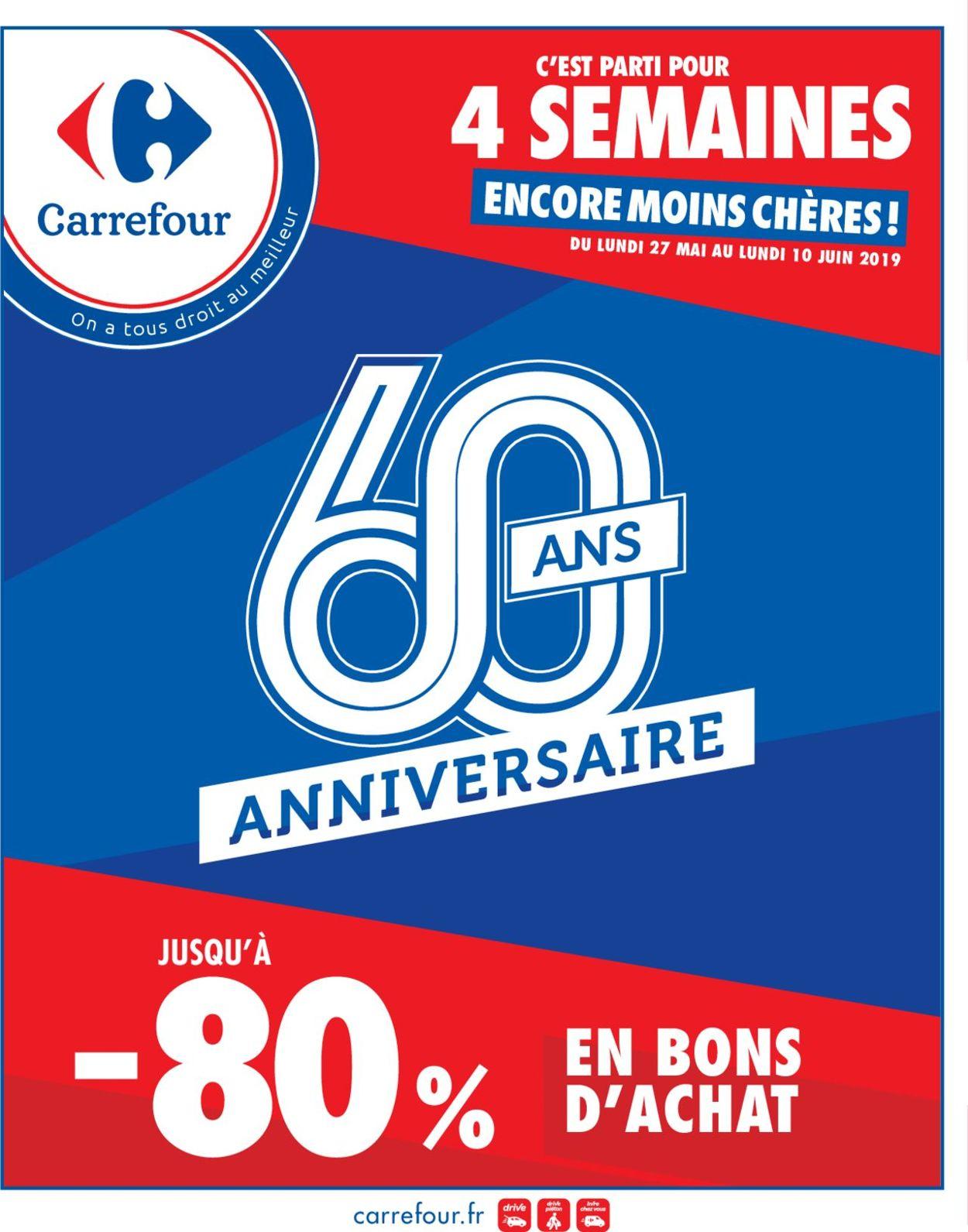 Carrefour Catalogue - 27.05-10.06.2019