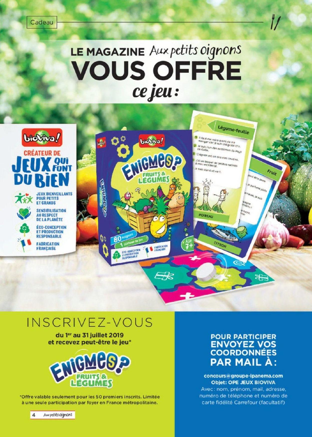 Carrefour Catalogue - 01.07-31.08.2019 (Page 4)