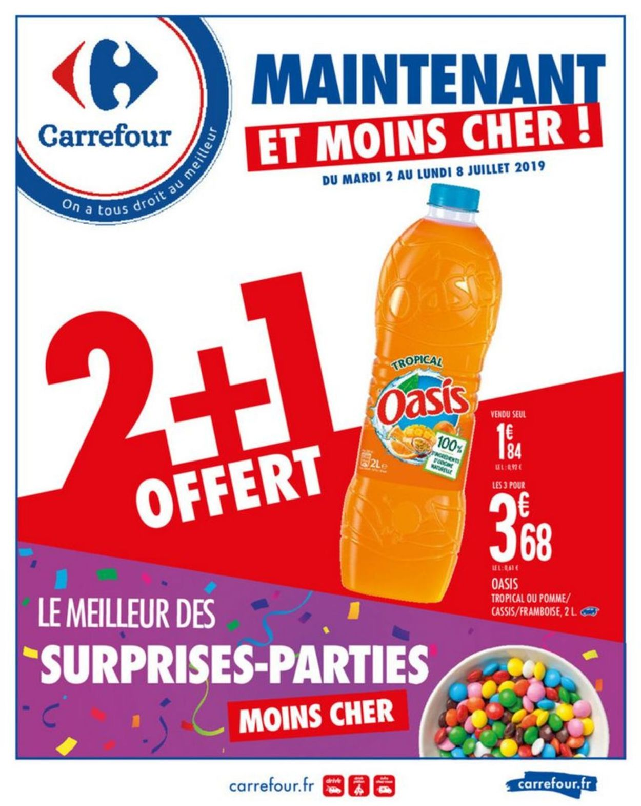 Carrefour Catalogue - 02.07-08.07.2019