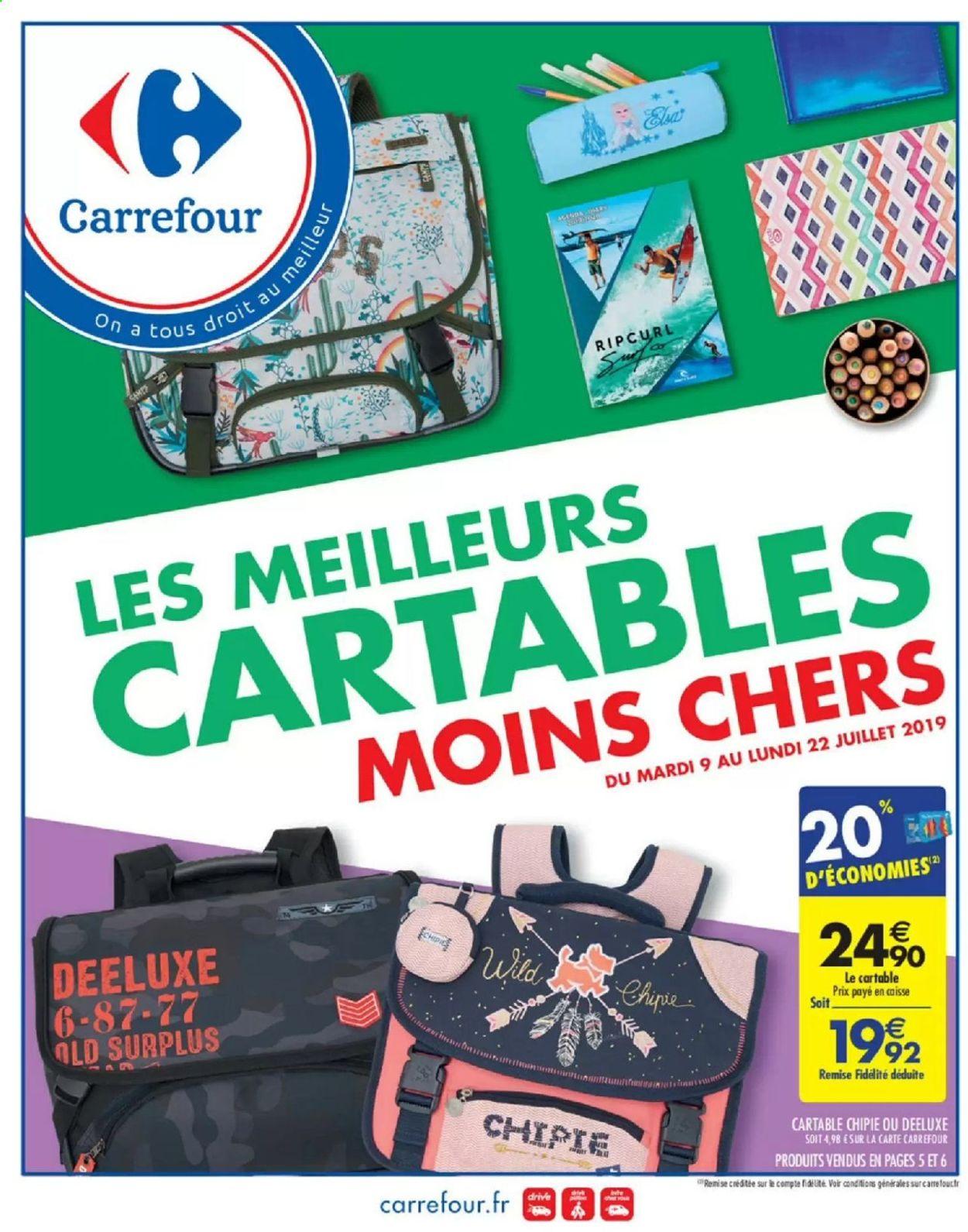 Carrefour Catalogue - 09.07-22.07.2019