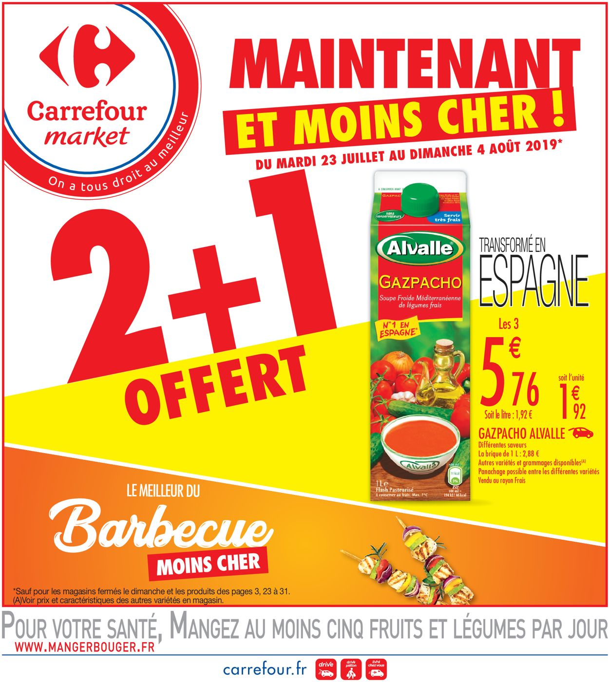 Carrefour Catalogue - 23.07-04.08.2019