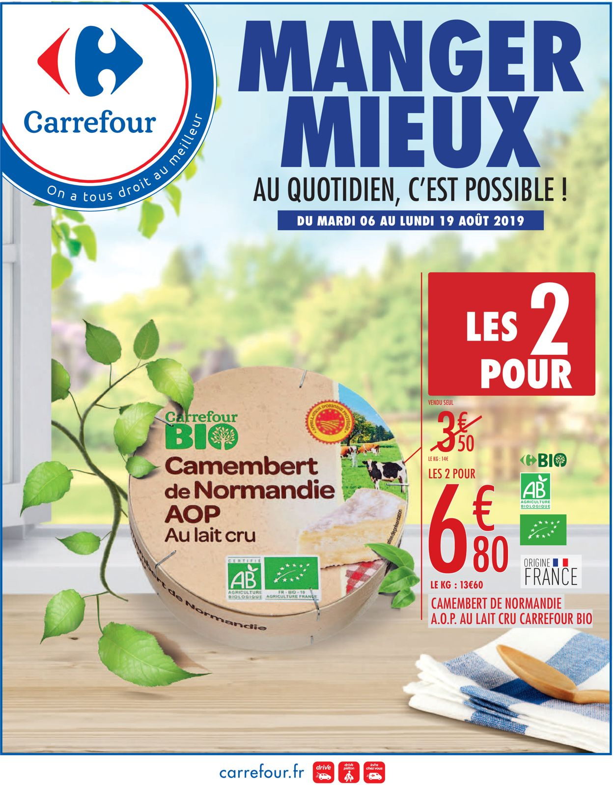 Carrefour Catalogue - 06.08-19.08.2019