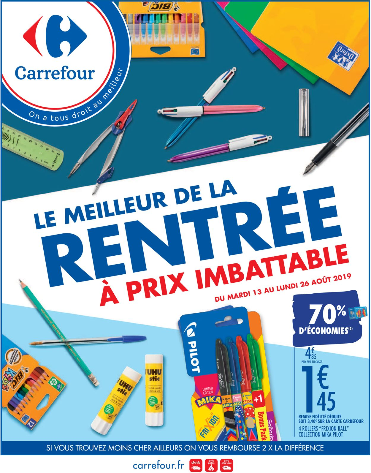 Carrefour Catalogue - 13.08-26.08.2019
