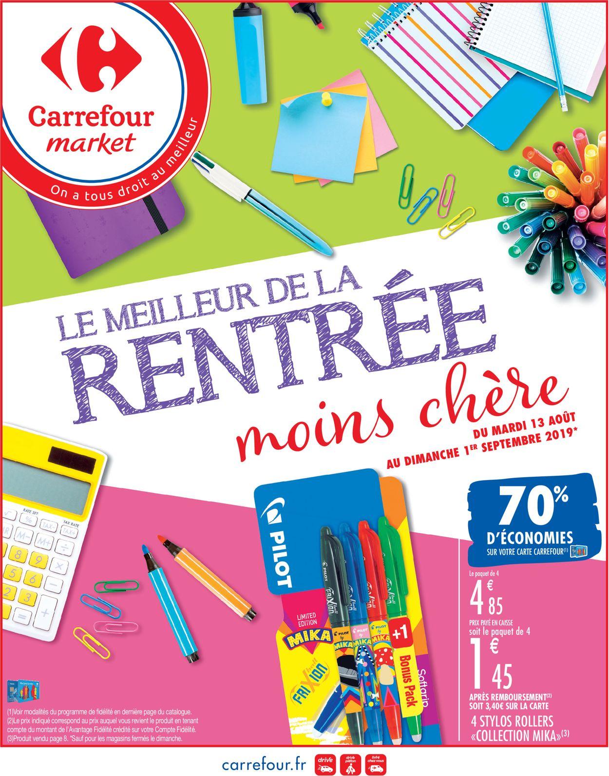 Carrefour Catalogue - 13.08-01.09.2019