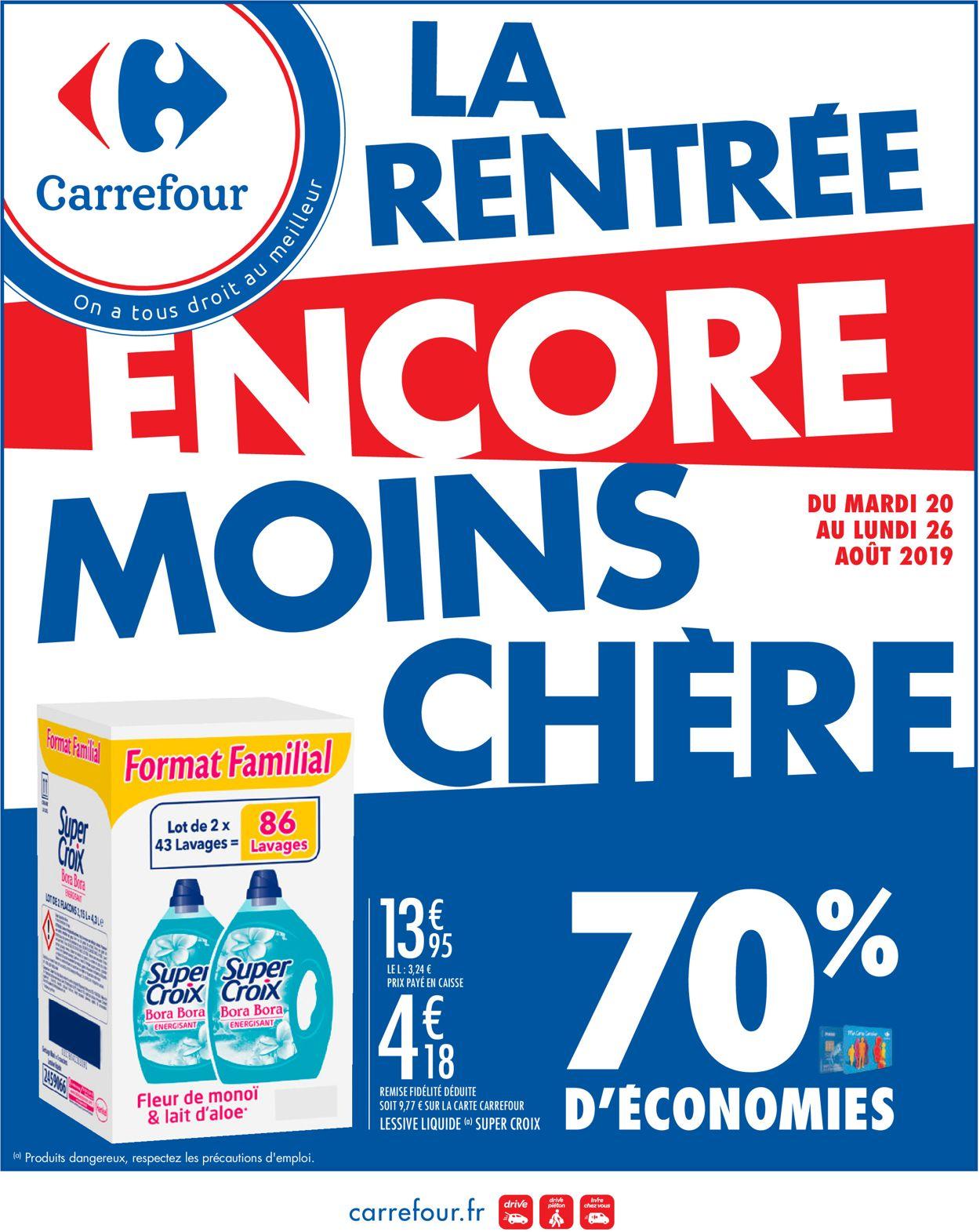 Carrefour Catalogue - 20.08-26.08.2019