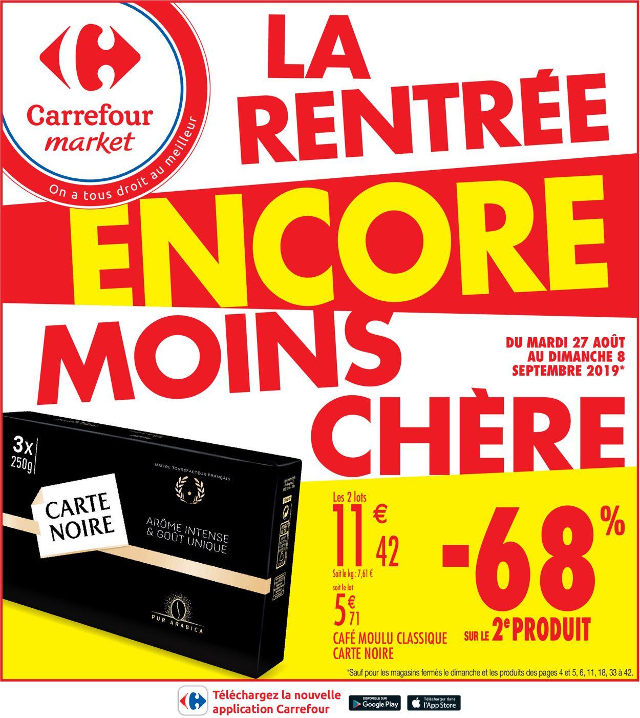 Carrefour Catalogue - 27.08-08.09.2019