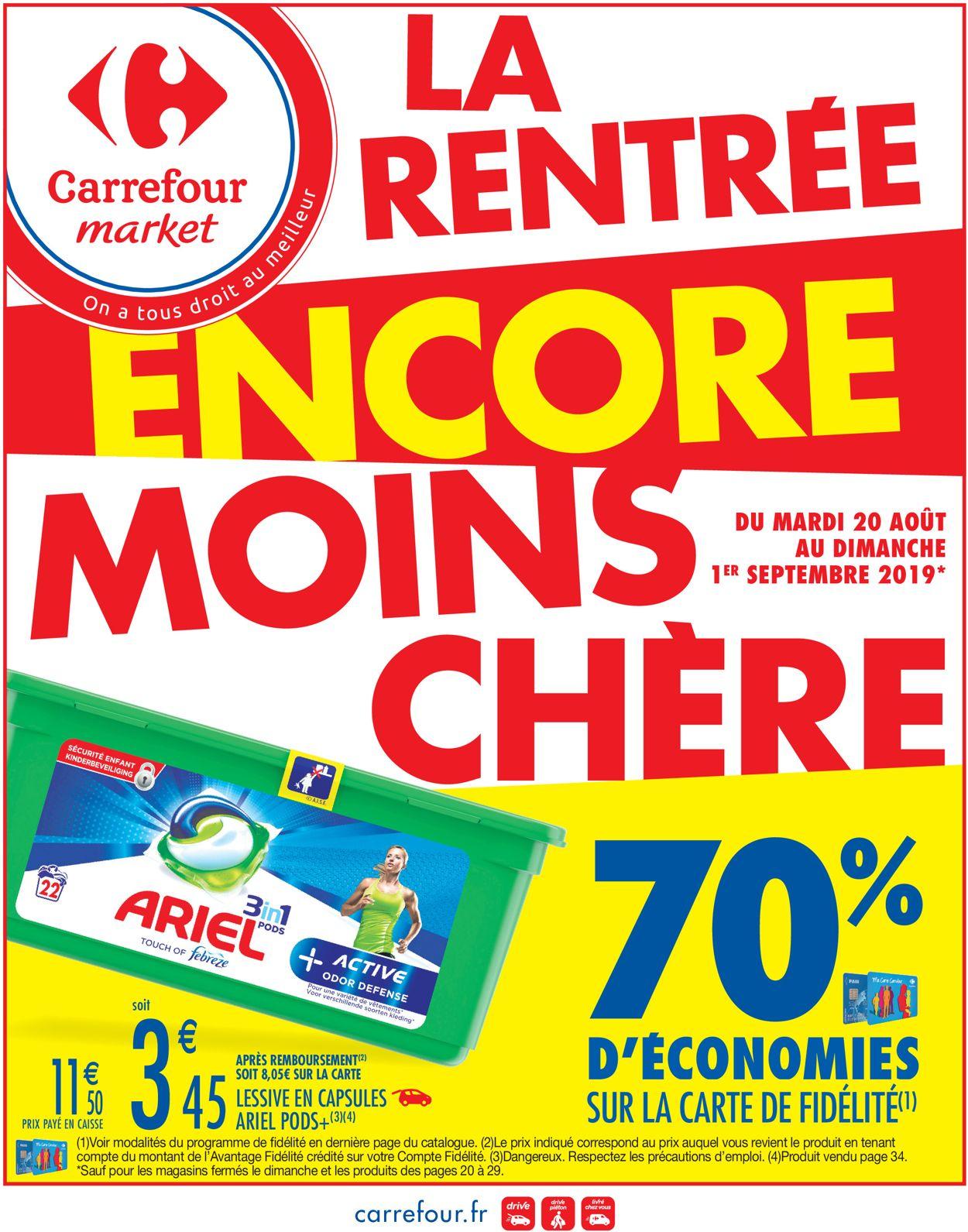Carrefour Catalogue - 20.08-01.09.2019