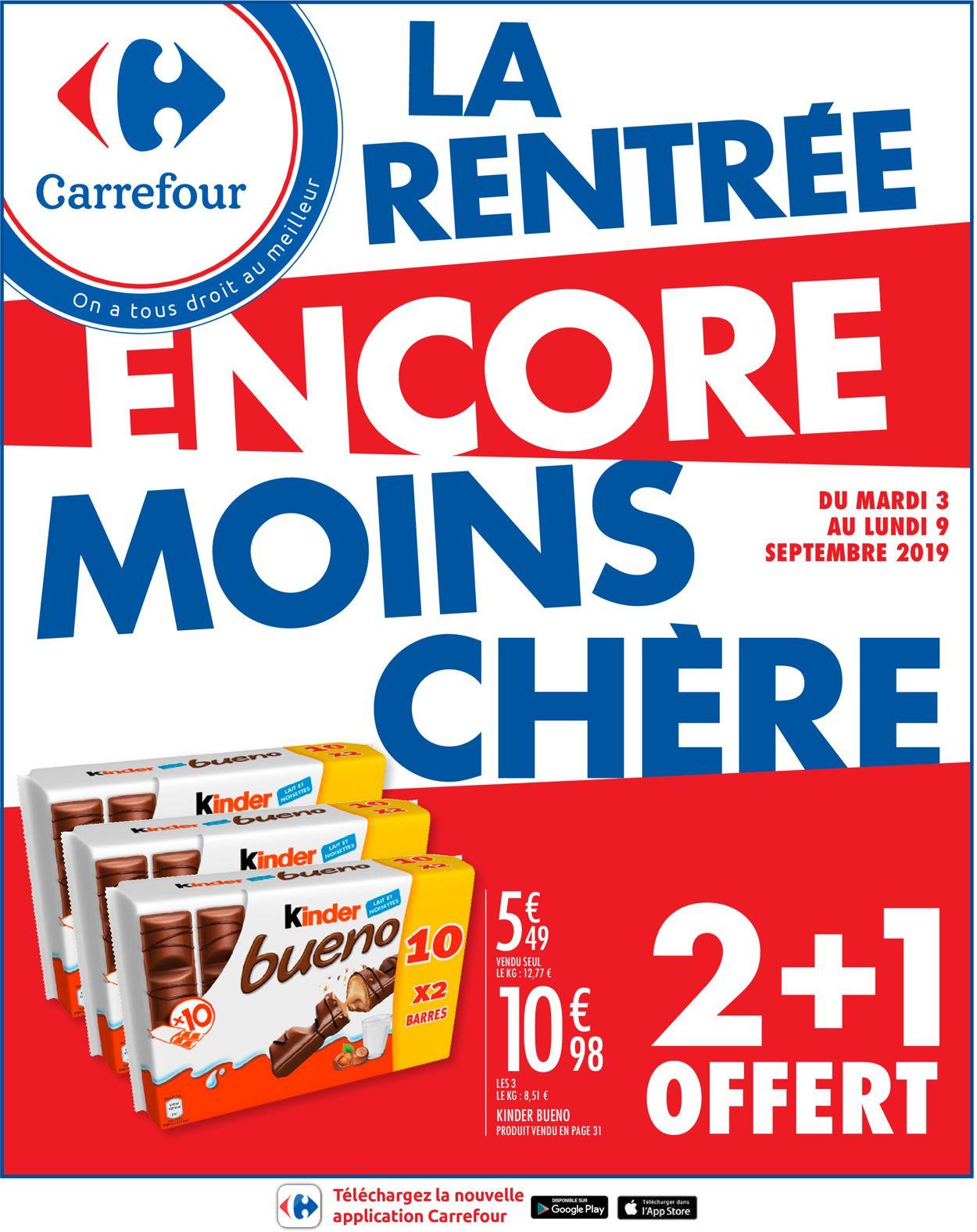 Carrefour Catalogue - 03.09-09.09.2019