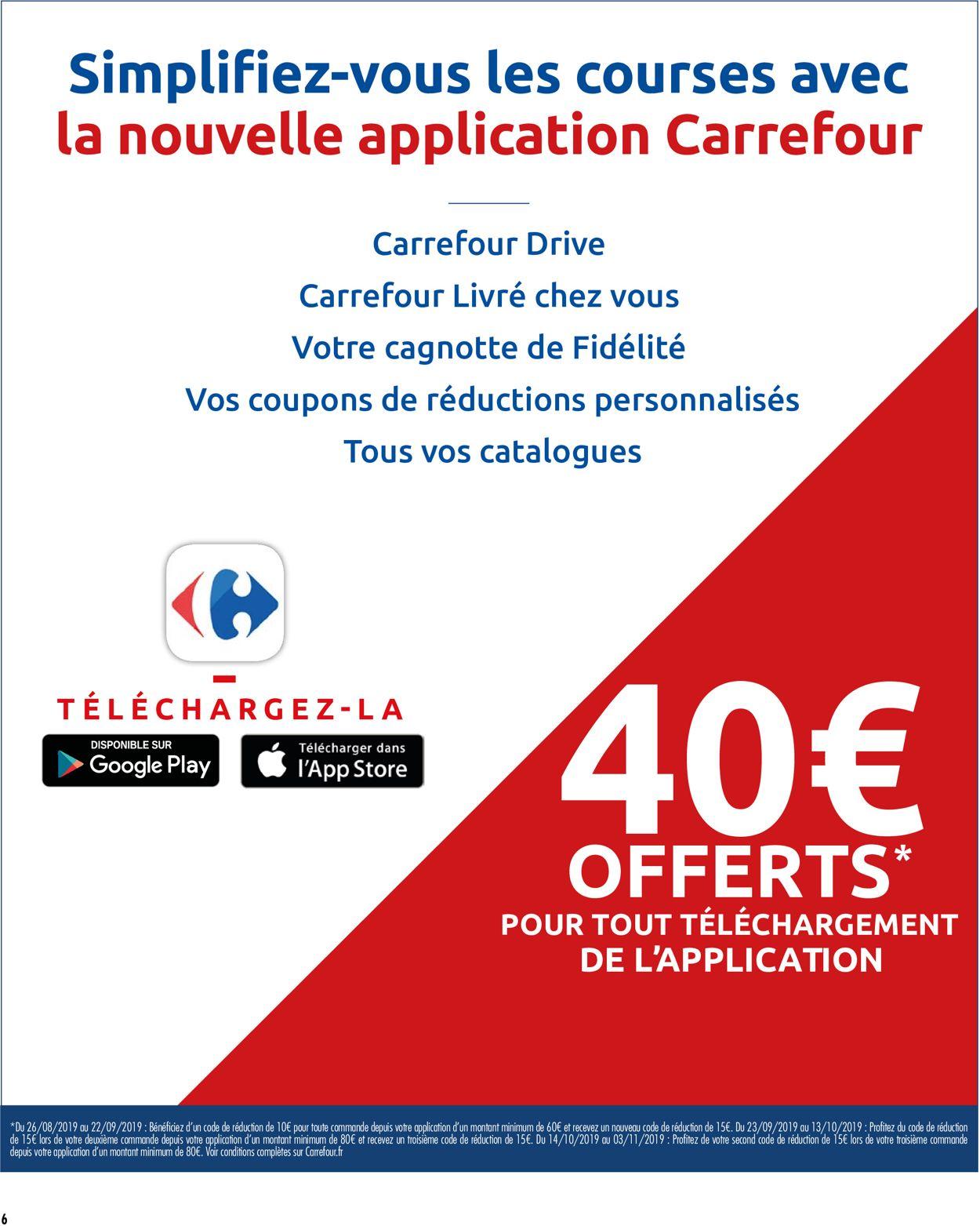 Carrefour Catalogue - 03.09-09.09.2019 (Page 6)