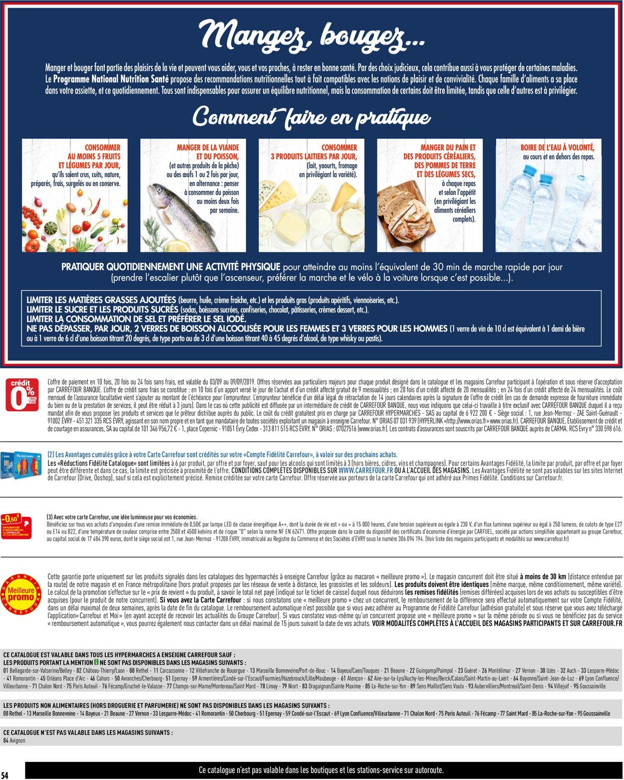 Carrefour Catalogue - 03.09-09.09.2019 (Page 56)