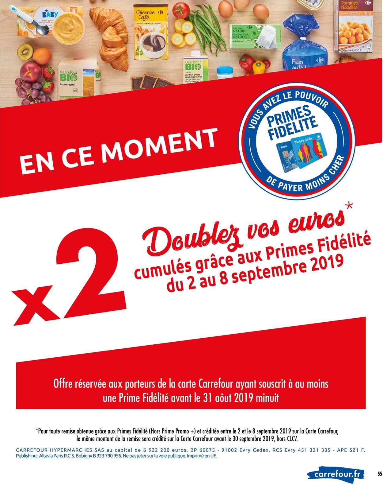 Carrefour Catalogue - 03.09-09.09.2019 (Page 57)