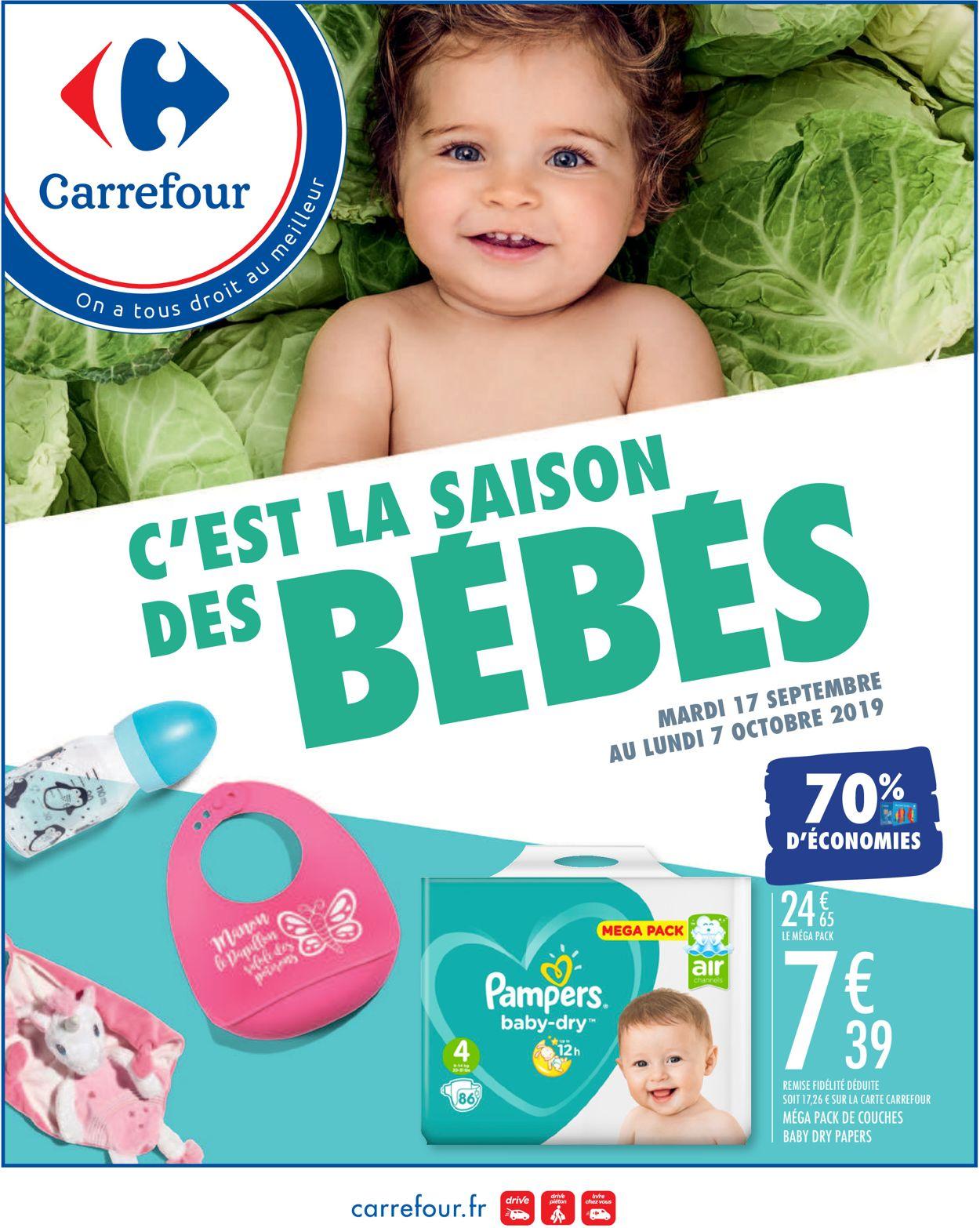 Carrefour Catalogue - 17.09-07.10.2019