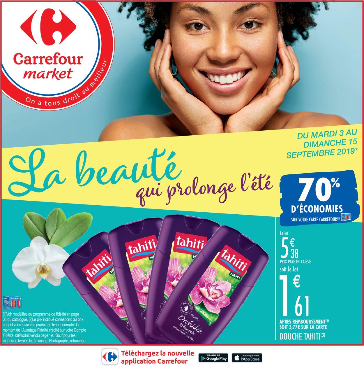Carrefour Catalogue - 05.09-22.09.2019