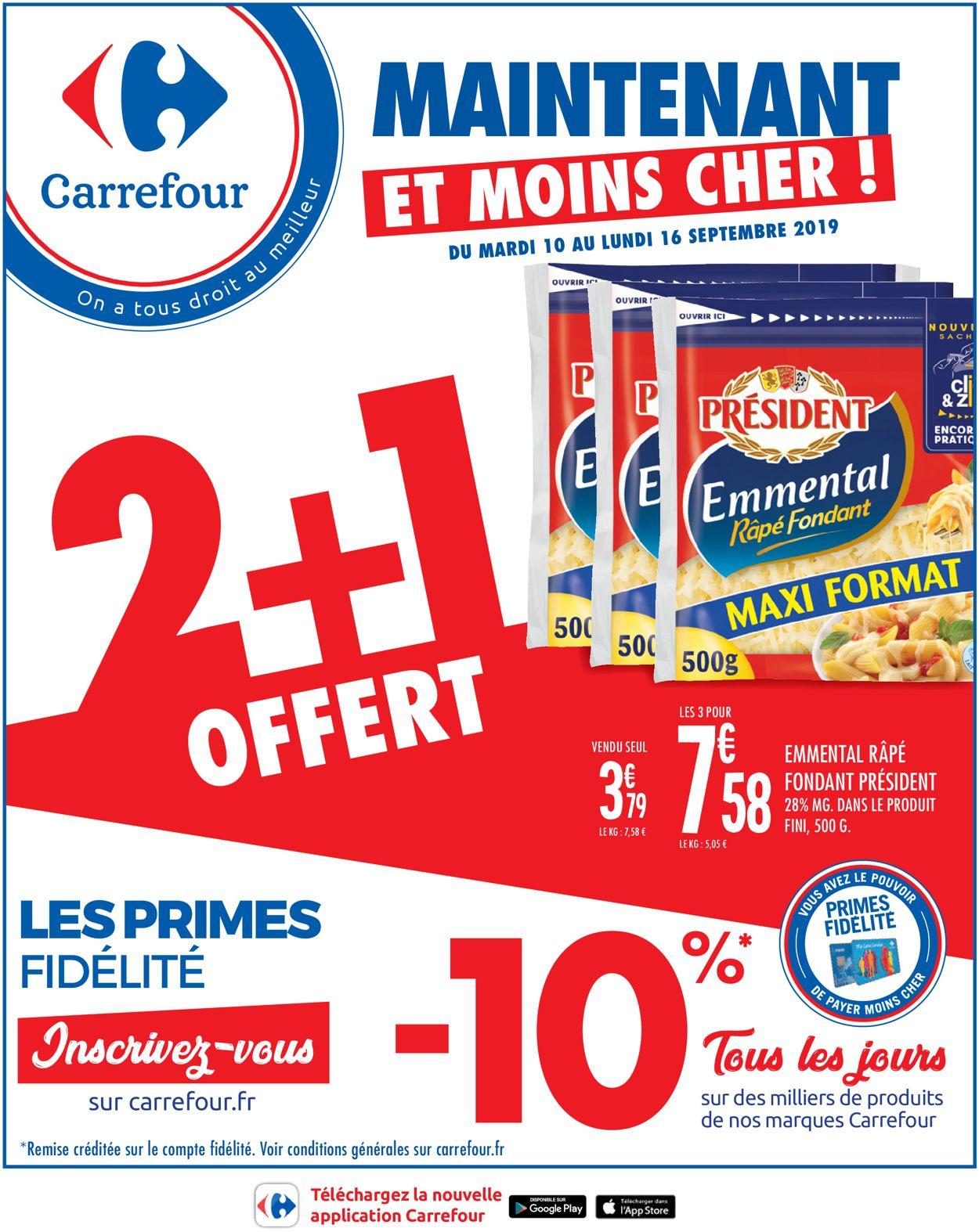 Carrefour Catalogue - 10.09-16.09.2019