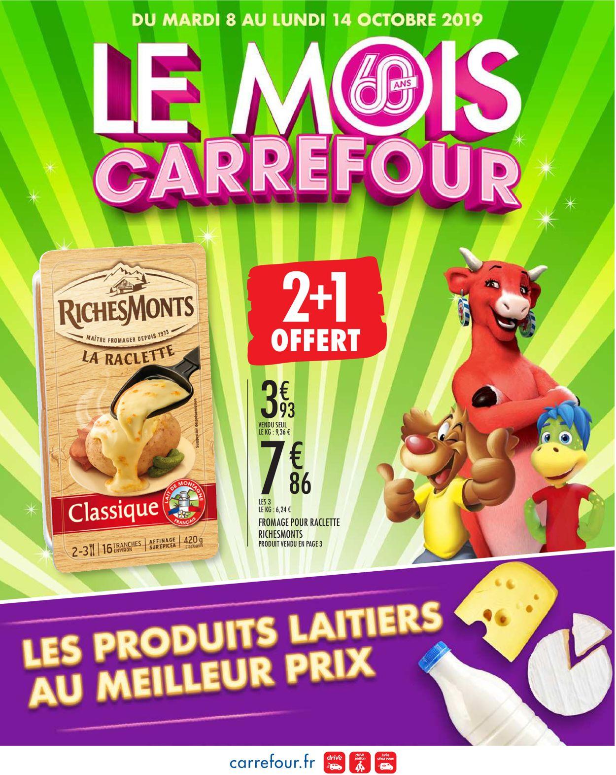 Carrefour Catalogue - 08.10-14.10.2019